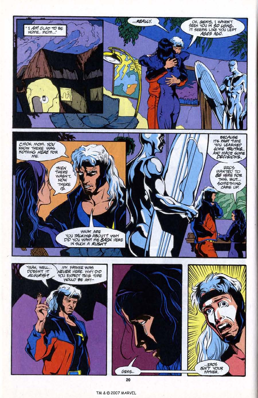 Read online Silver Surfer (1987) comic -  Issue # _Annual 6 - 22