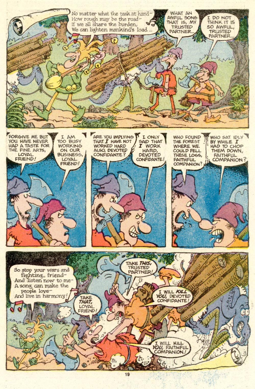 Read online Sergio Aragonés Groo the Wanderer comic -  Issue #15 - 19