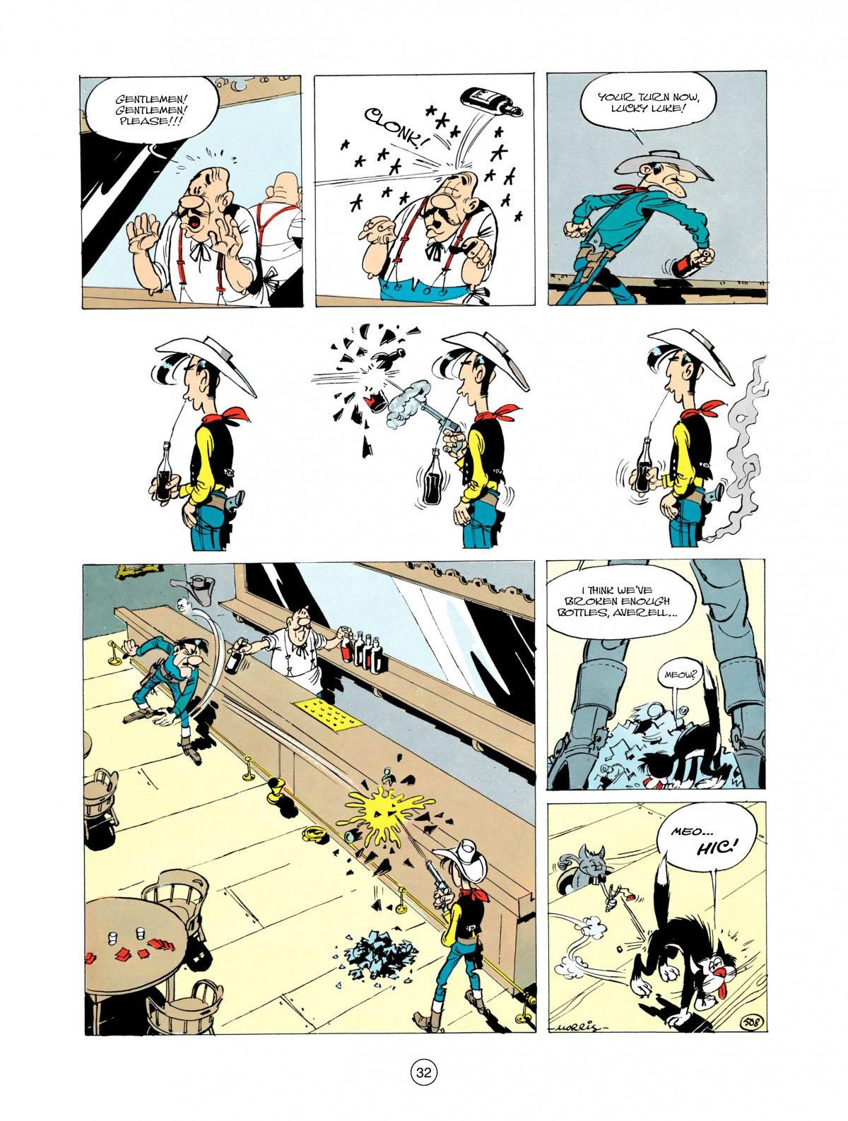 Read online A Lucky Luke Adventure comic -  Issue #28 - 33