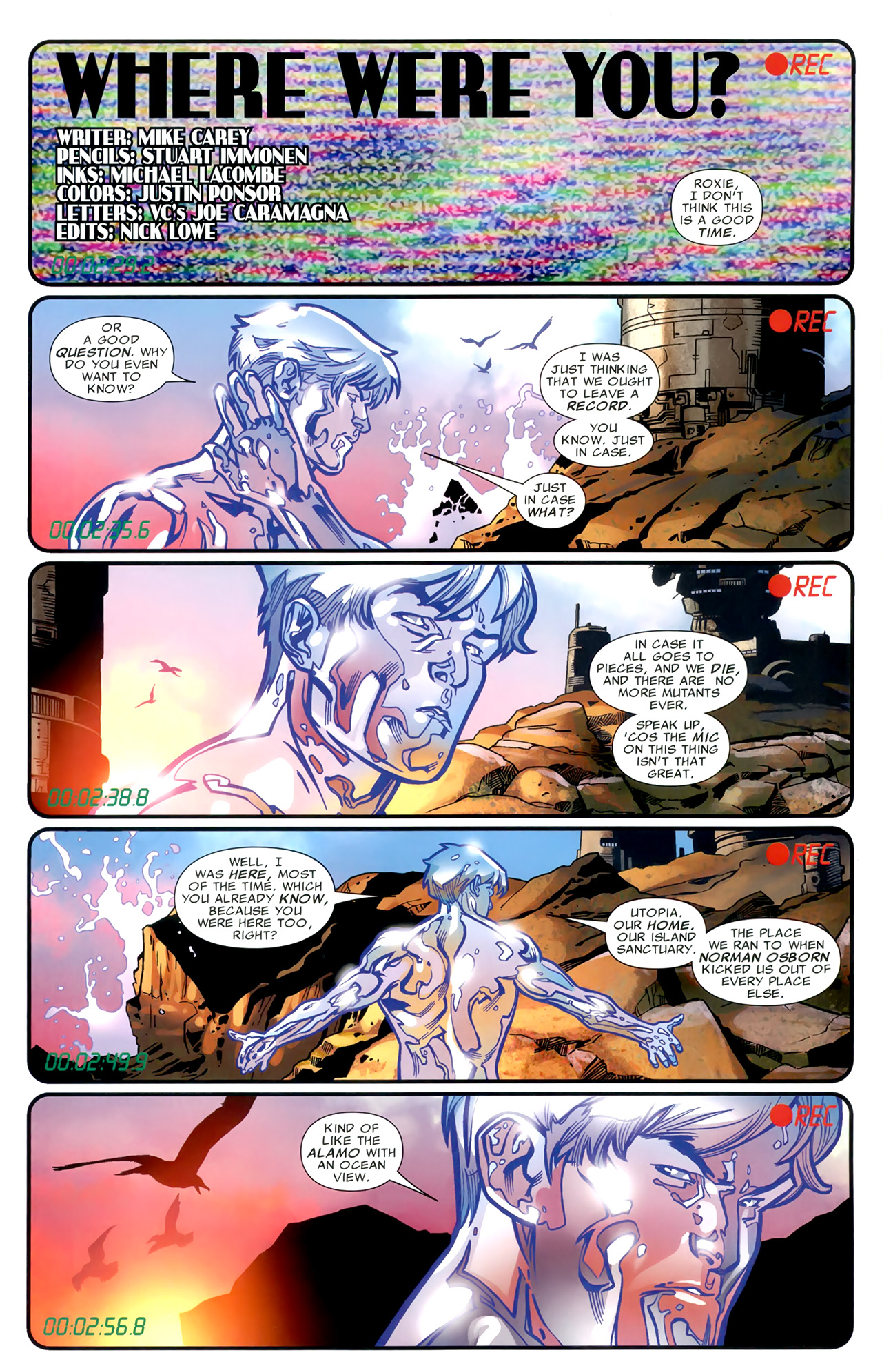 Read online Second Coming: Prepare comic -  Issue # Full - 4