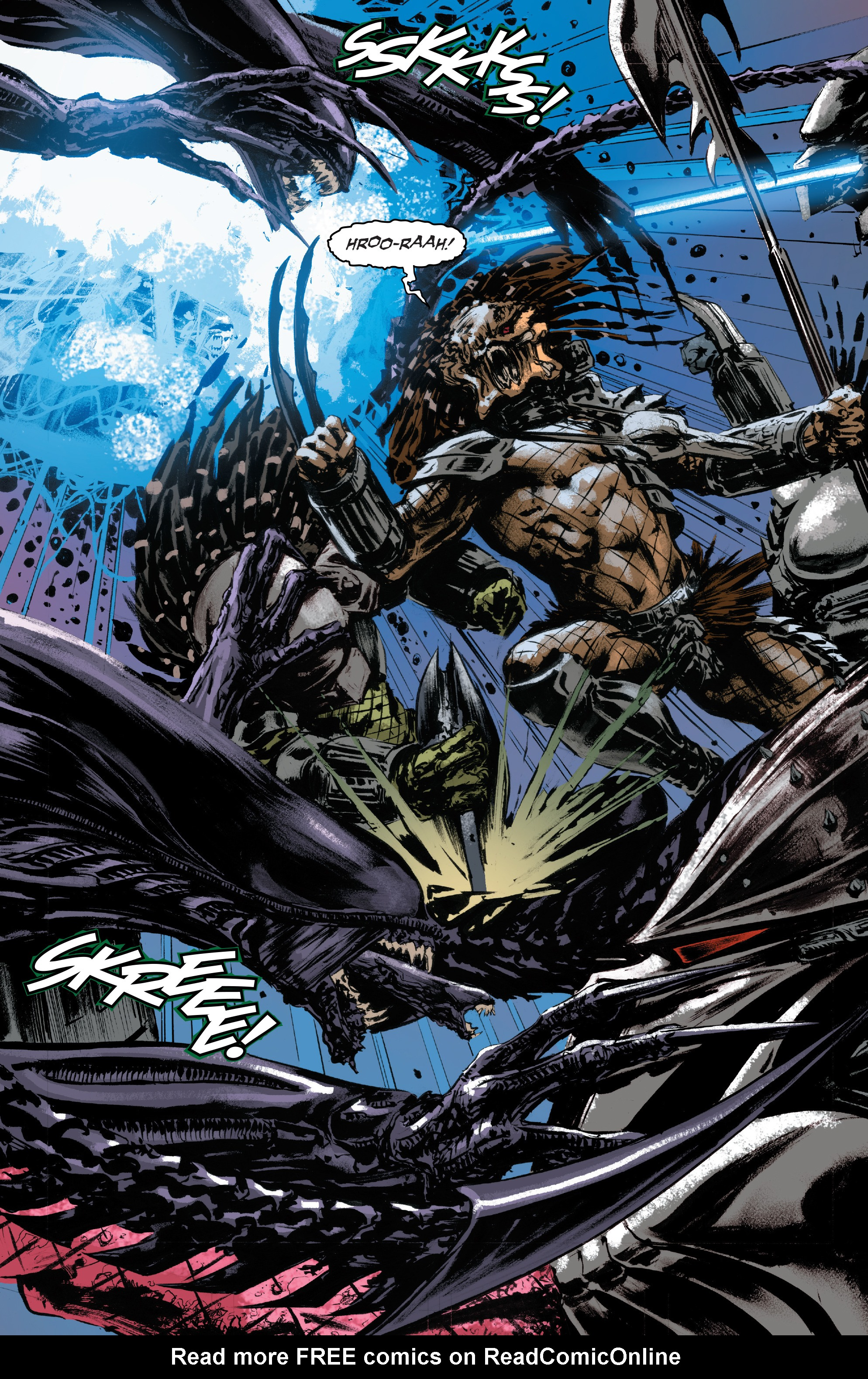 Read online Alien Vs. Predator: Life and Death comic -  Issue #3 - 3