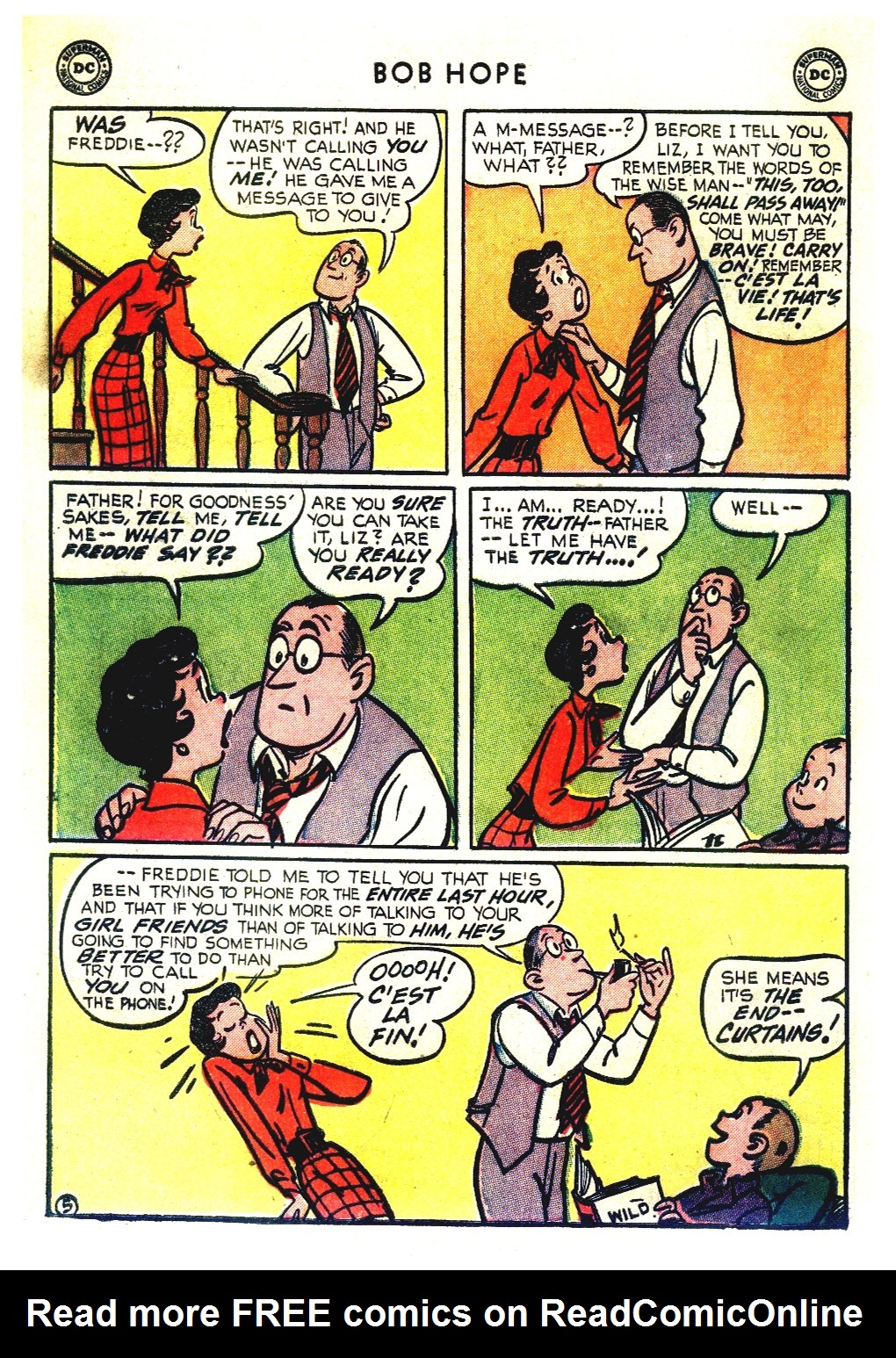 The Adventures of Bob Hope issue 27 - Page 40