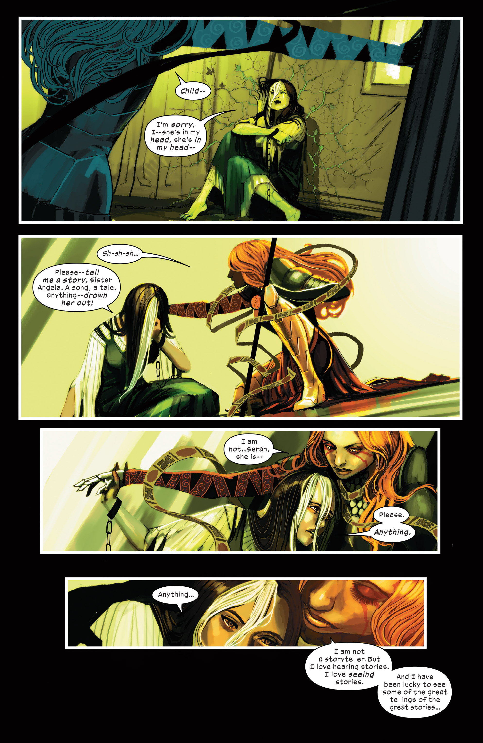 Read online 1602 Witch Hunter Angela comic -  Issue #3 - 9