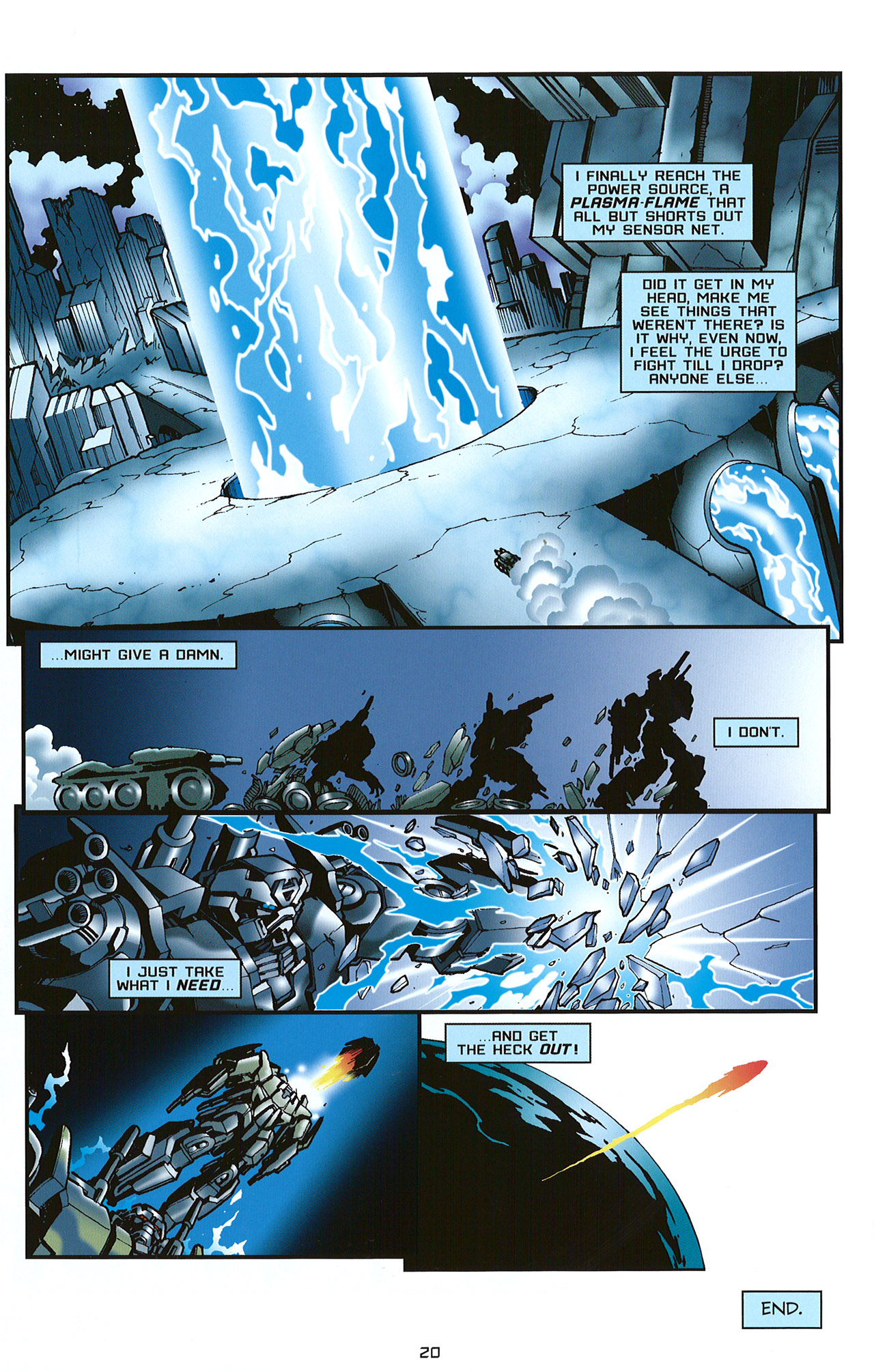 Read online Transformers: Saga of the Allspark comic -  Issue #2 - 23