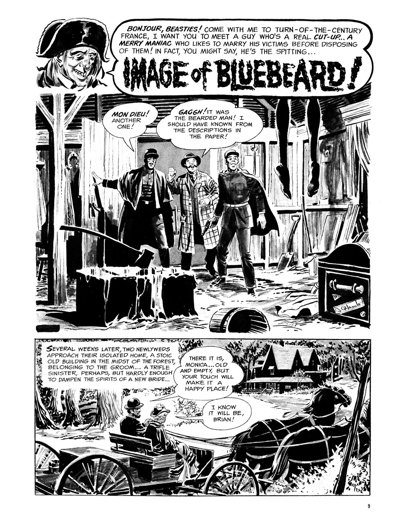 Read online Eerie Archives comic -  Issue # TPB 1 - 10