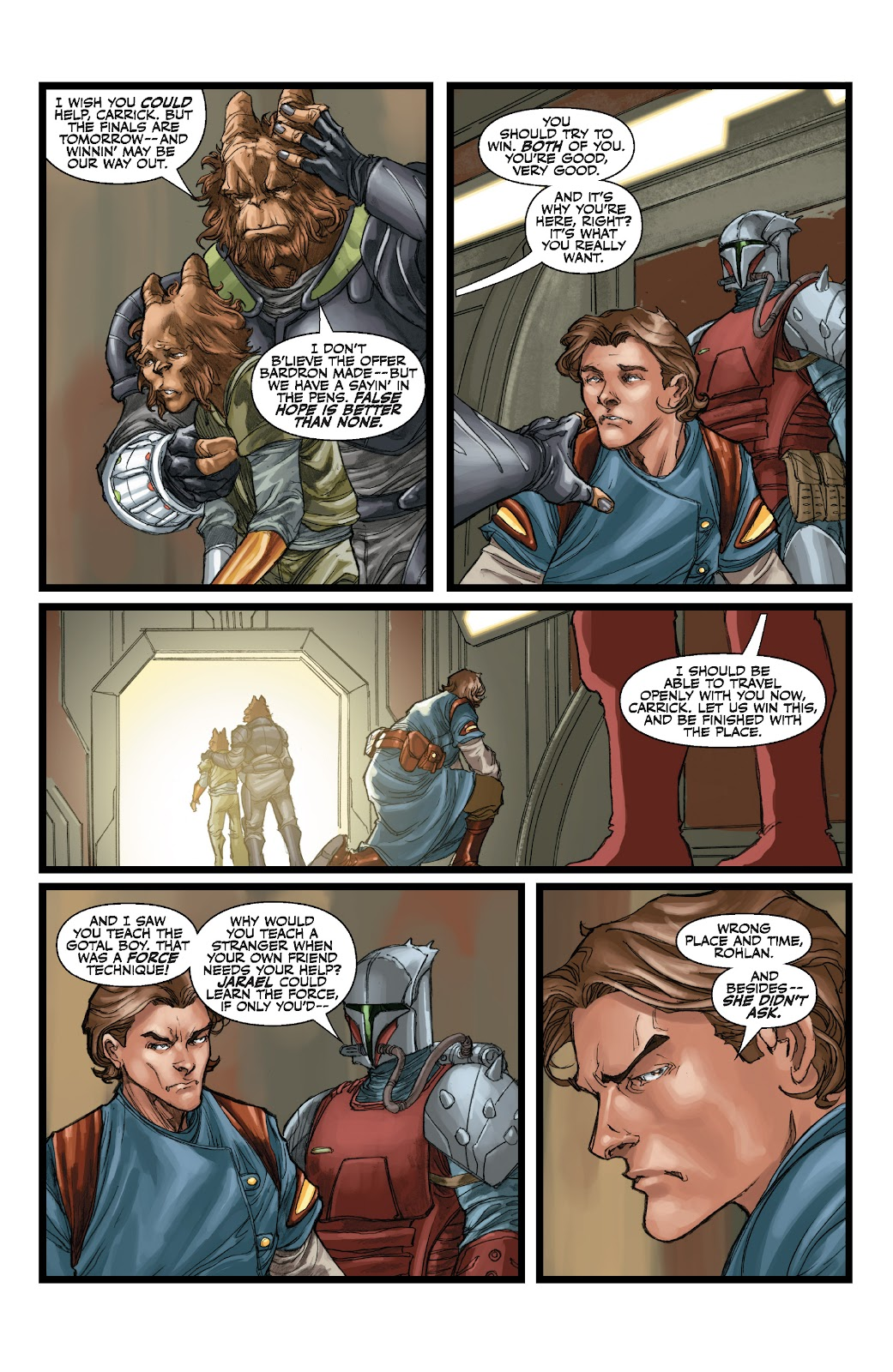 Read online Star Wars Legends: The Old Republic - Epic Collection comic -  Issue # TPB 3 (Part 1) - 72