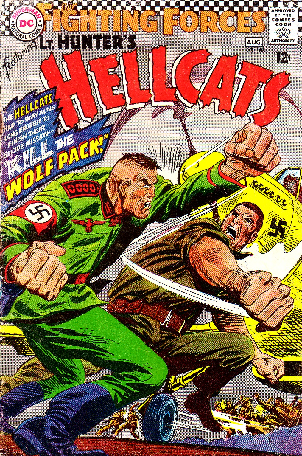 Our Fighting Forces (1954) issue 108 - Page 1