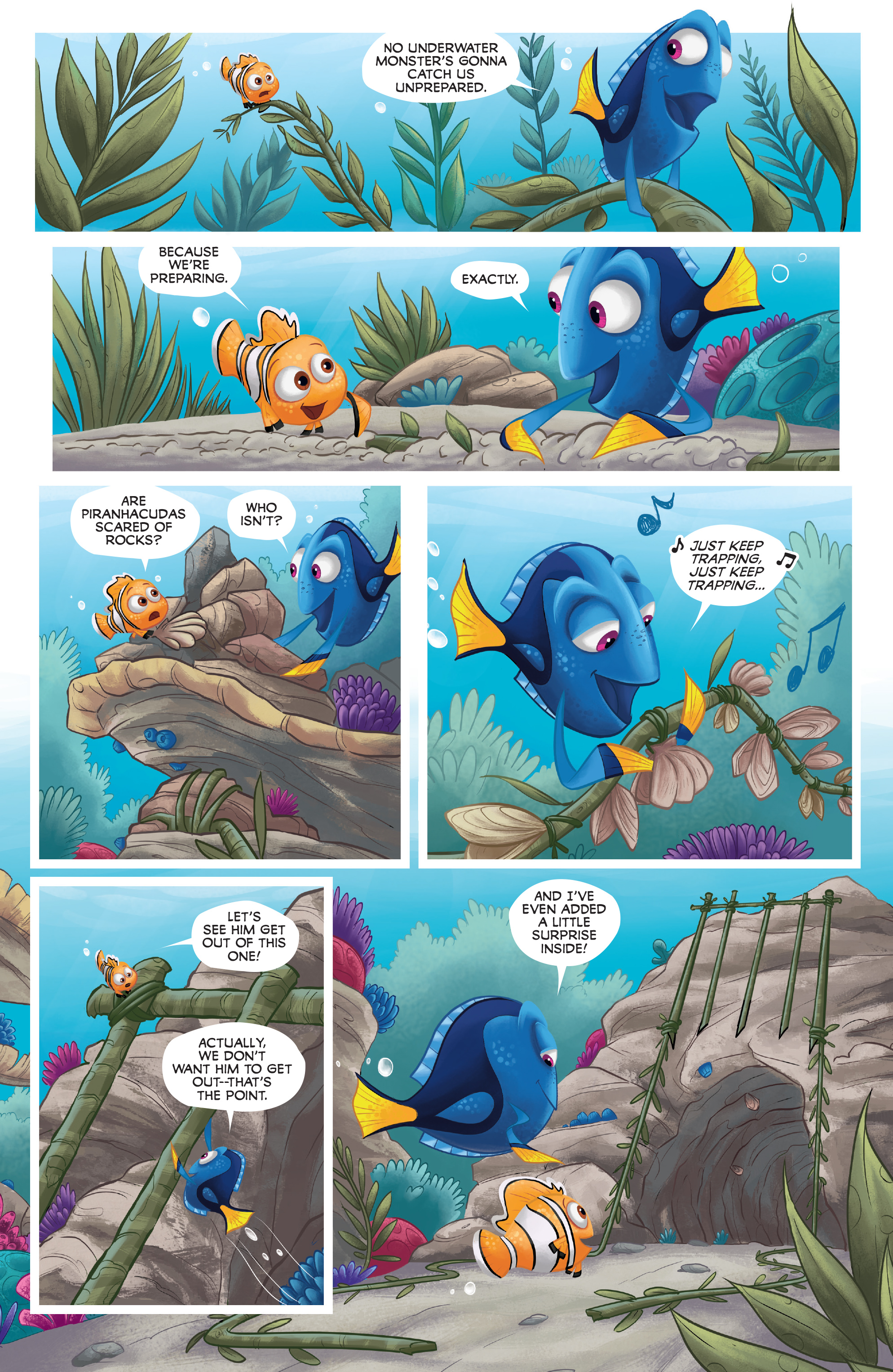 Read online Disney Pixar Finding Dory comic -  Issue #4 - 15