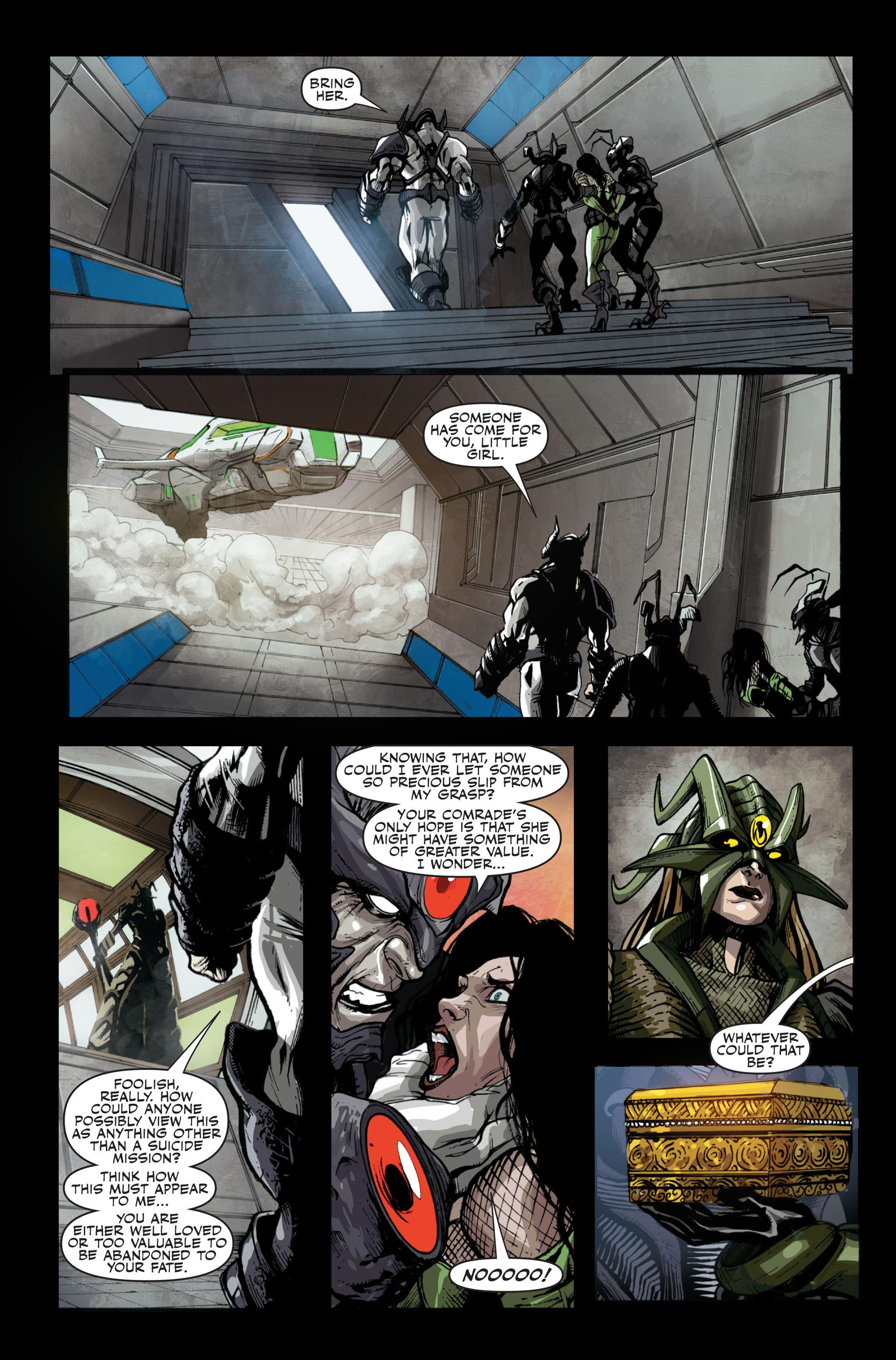 Read online Secret Warriors comic -  Issue #13 - 21
