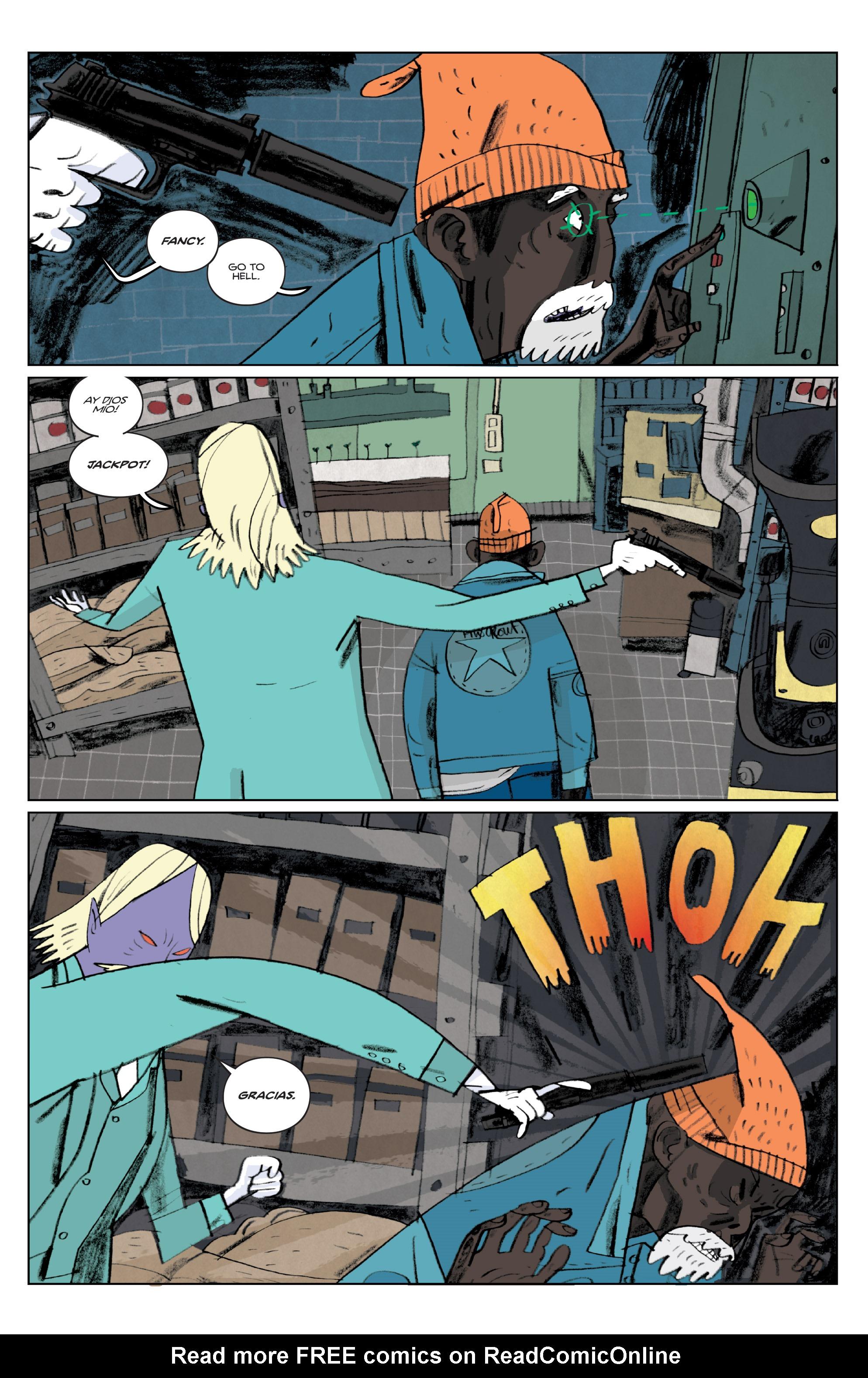 Read online Helena Crash comic -  Issue #3 - 21