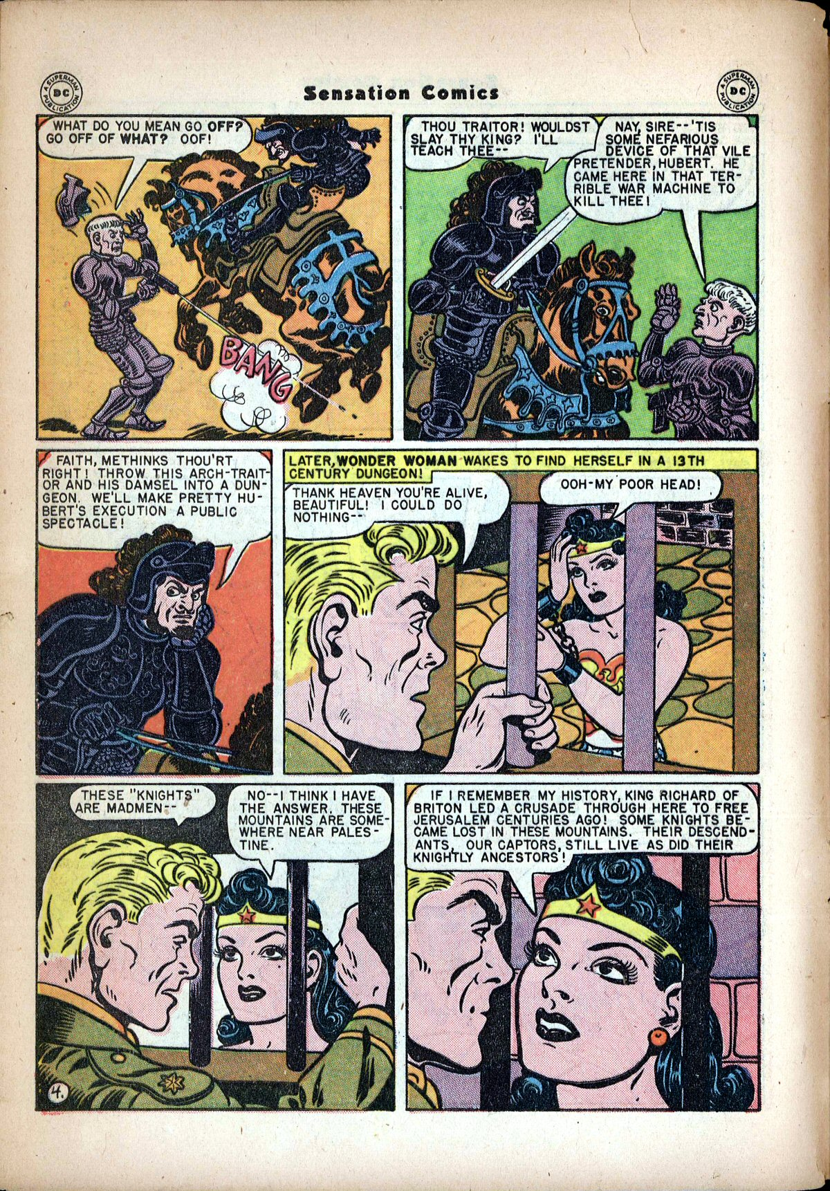 Read online Sensation (Mystery) Comics comic -  Issue #62 - 6