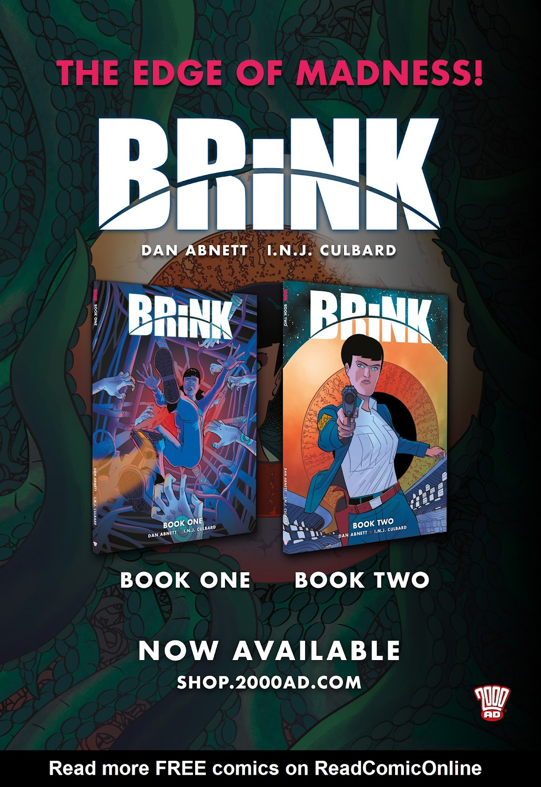 Read online Brink comic -  Issue # TPB 3 - 115