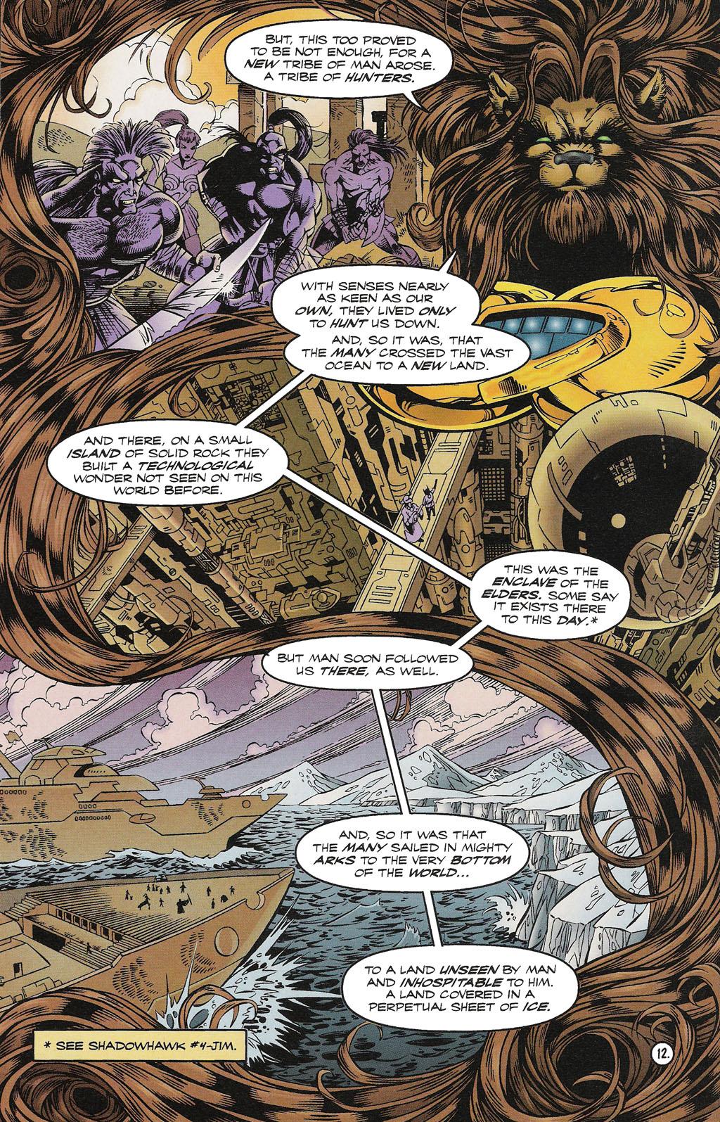 Read online ShadowHawk comic -  Issue #15 - 13