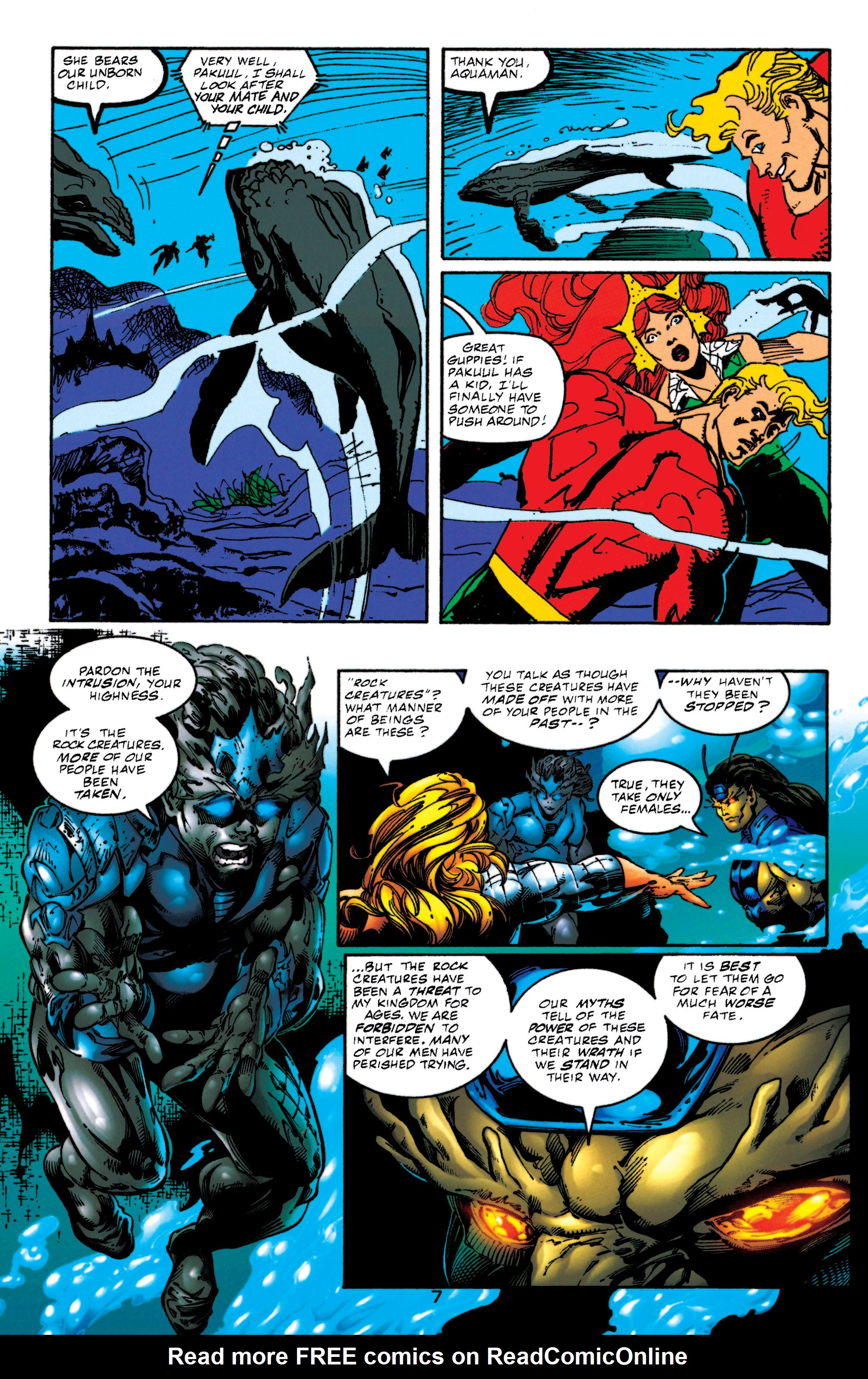 Read online Aquaman (1994) comic -  Issue #52 - 7