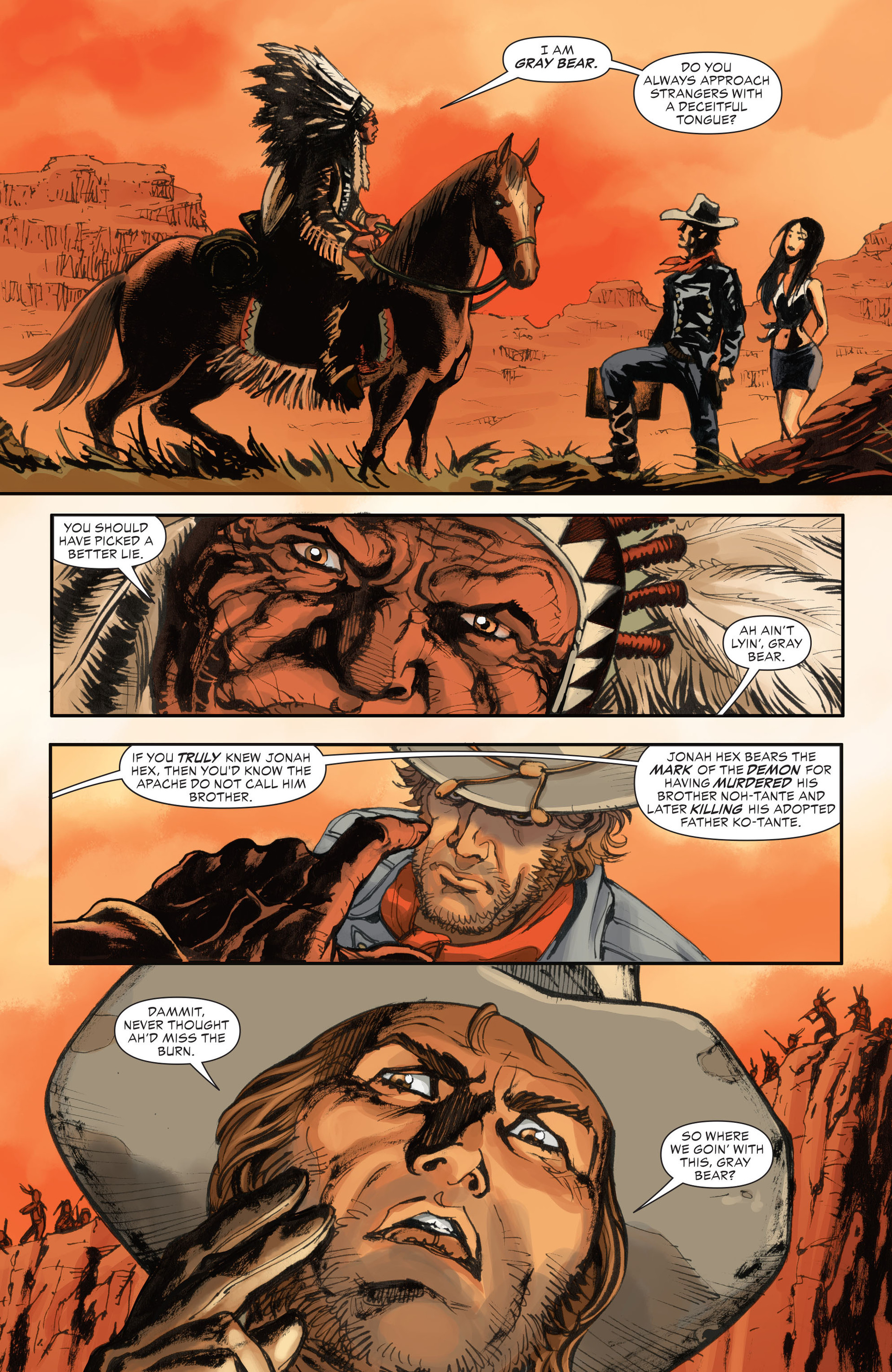 Read online All-Star Western (2011) comic -  Issue #28 - 22