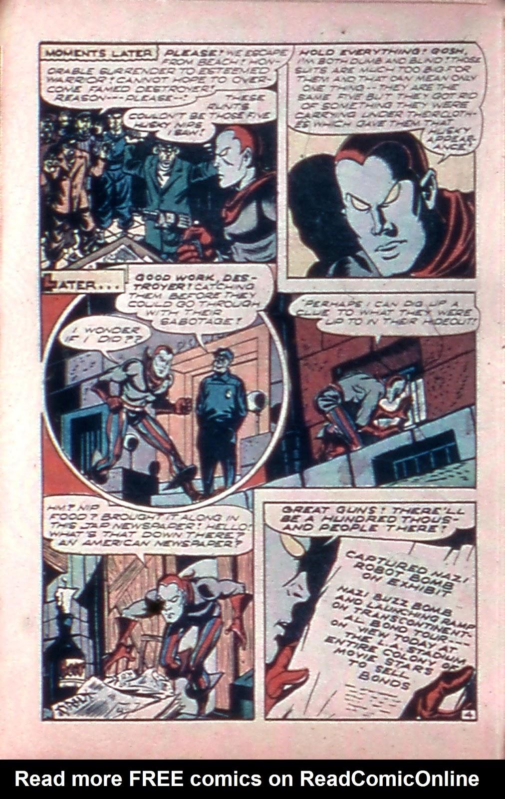 Read online Mystic Comics (1944) comic -  Issue #4 - 28