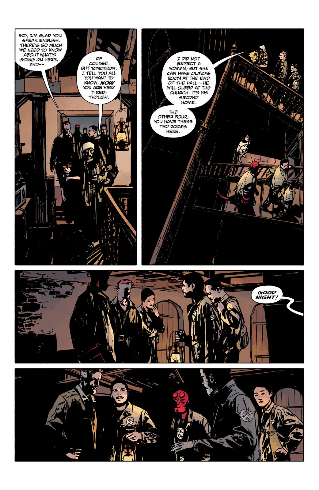 Read online Hellboy and the B.P.R.D. comic -  Issue # _TPB - 26