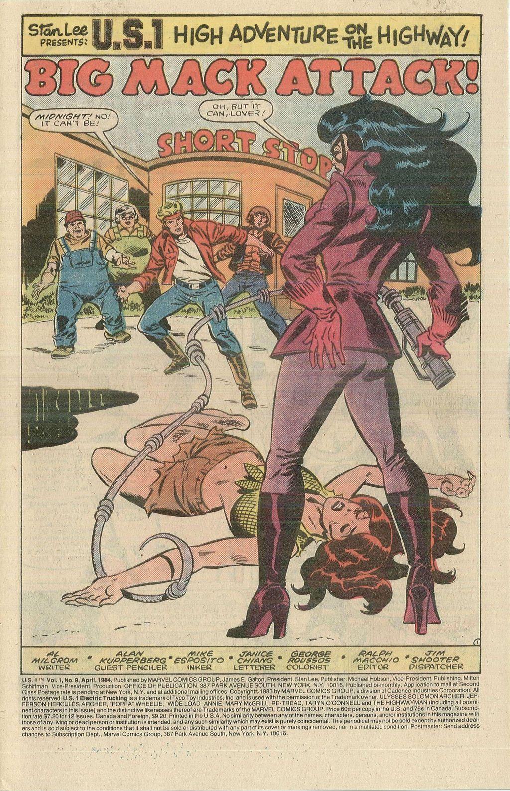 Read online U.S. 1 comic -  Issue #9 - 3