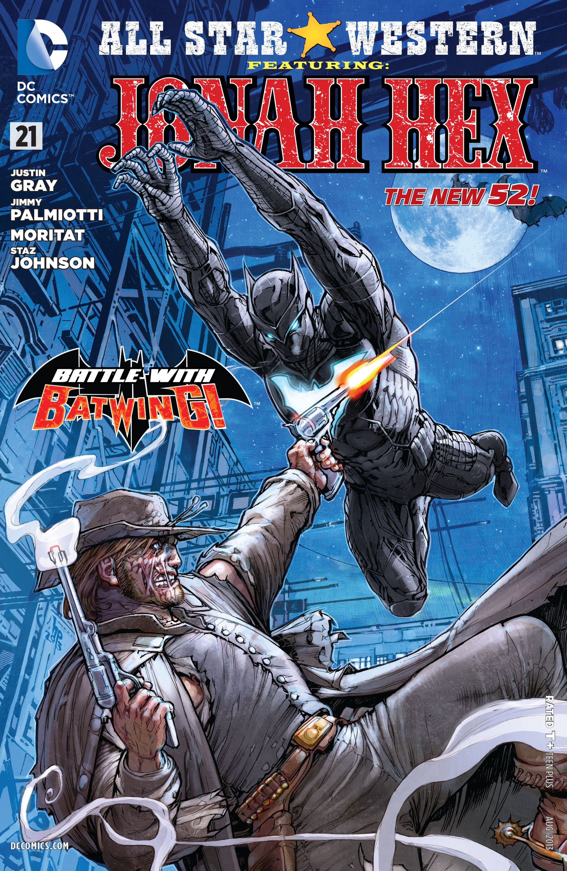 Read online All-Star Western (2011) comic -  Issue #21 - 1
