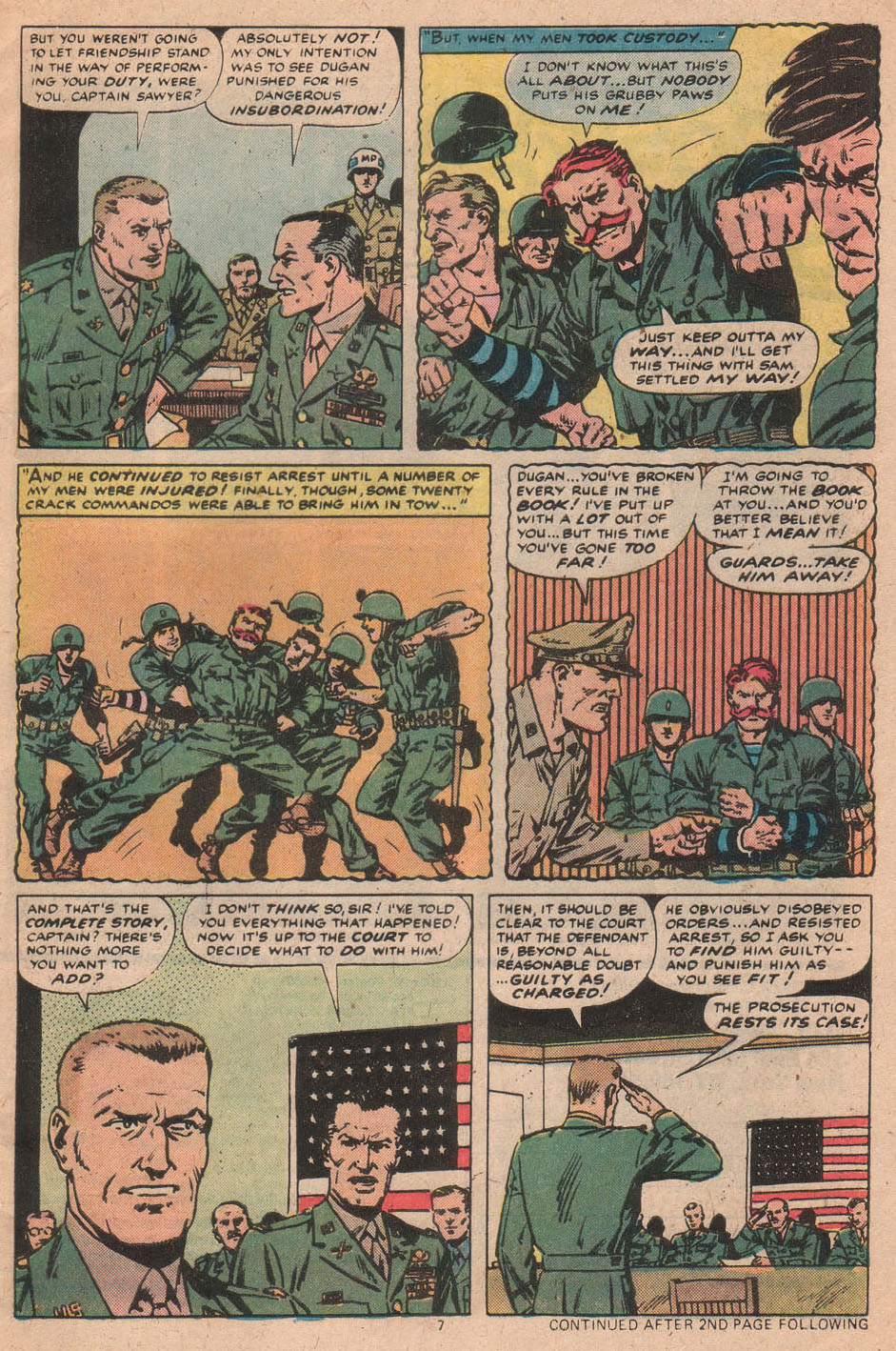 Read online Sgt. Fury comic -  Issue #156 - 9
