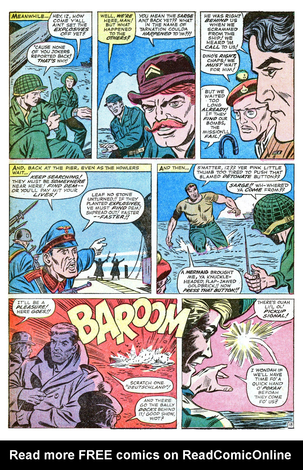 Read online Sgt. Fury comic -  Issue #18 - 26