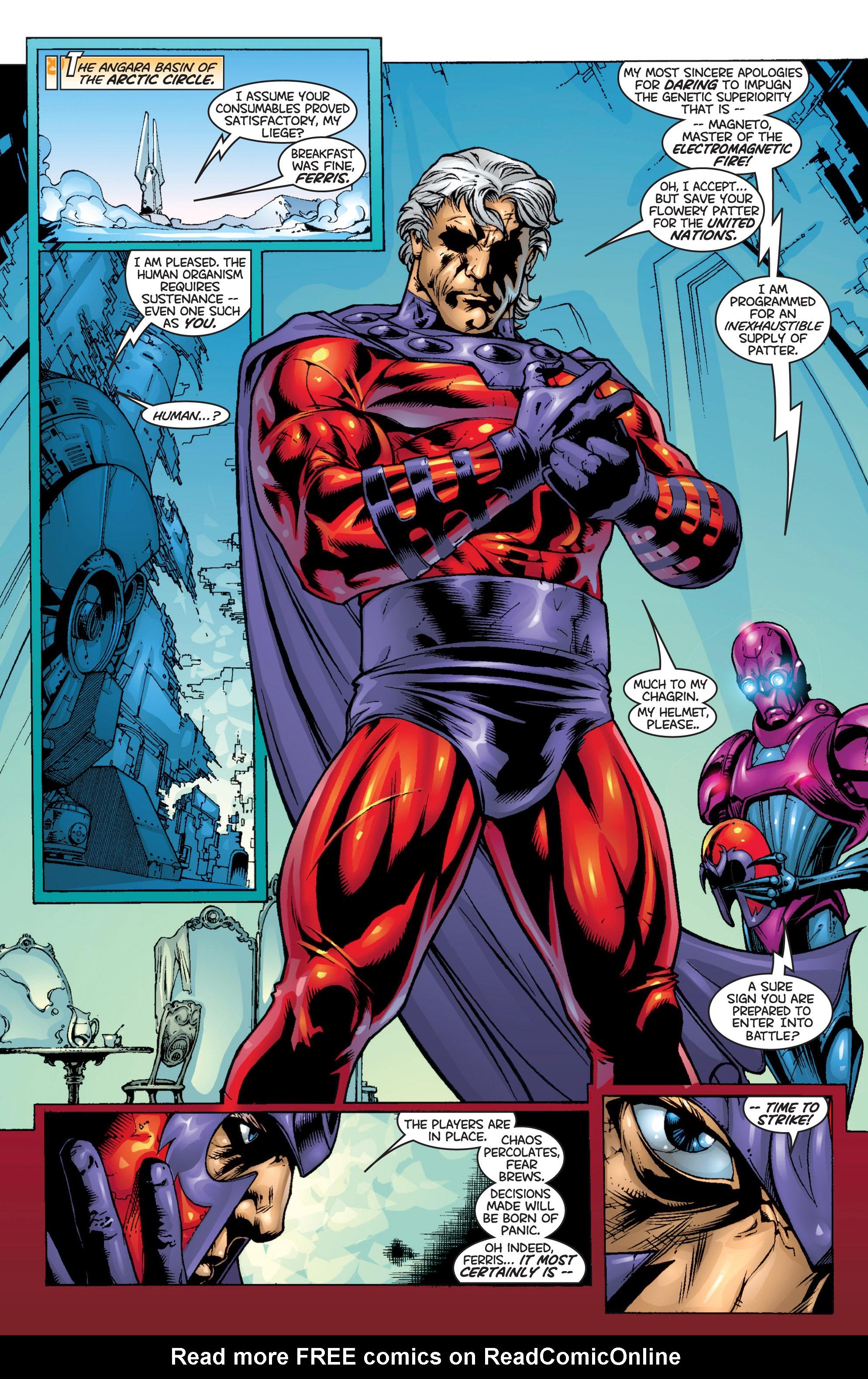 Read online Uncanny X-Men (1963) comic -  Issue #366 - 6