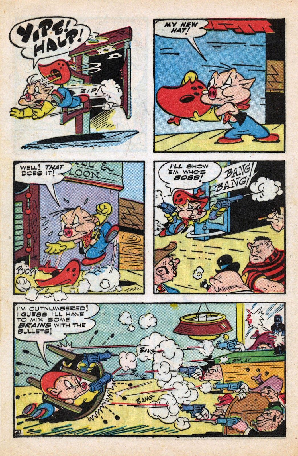 Read online Comedy Comics (1942) comic -  Issue #27 - 16