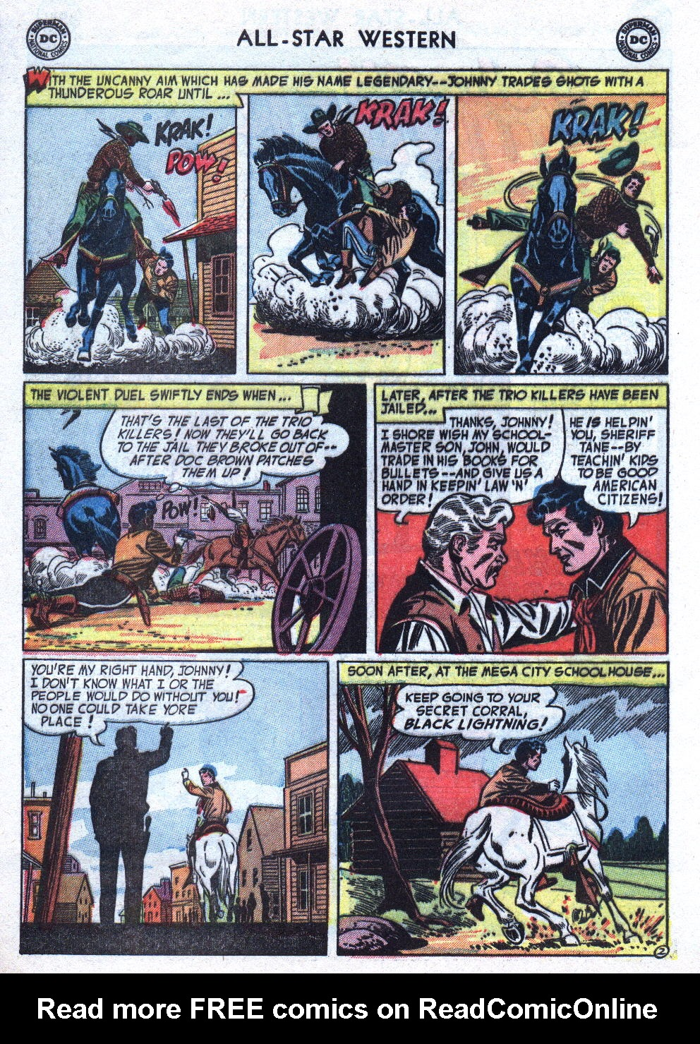 Read online All-Star Western (1951) comic -  Issue #76 - 28