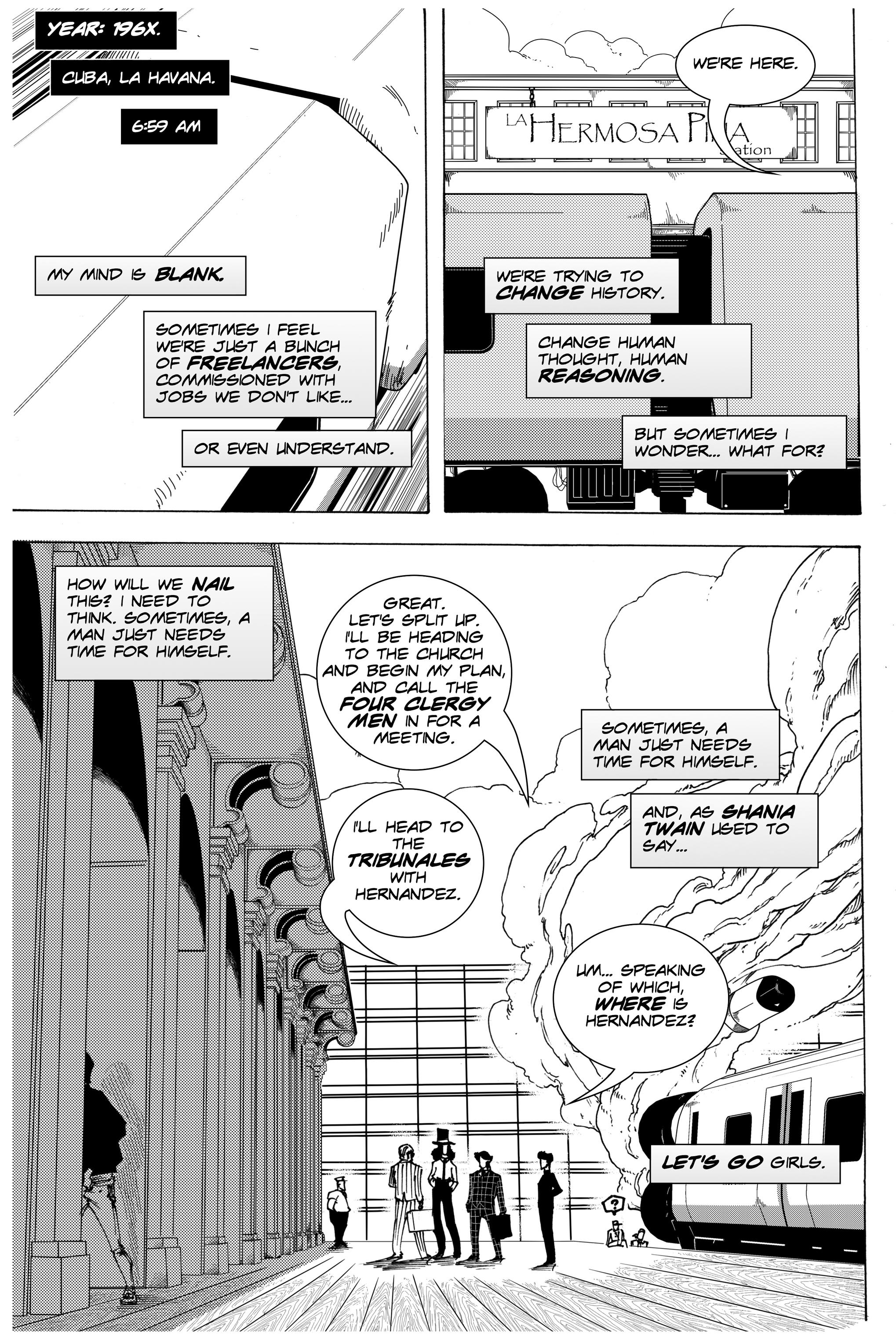 Read online Silvertongue 30xx Vol. 3 comic -  Issue # Full - 18