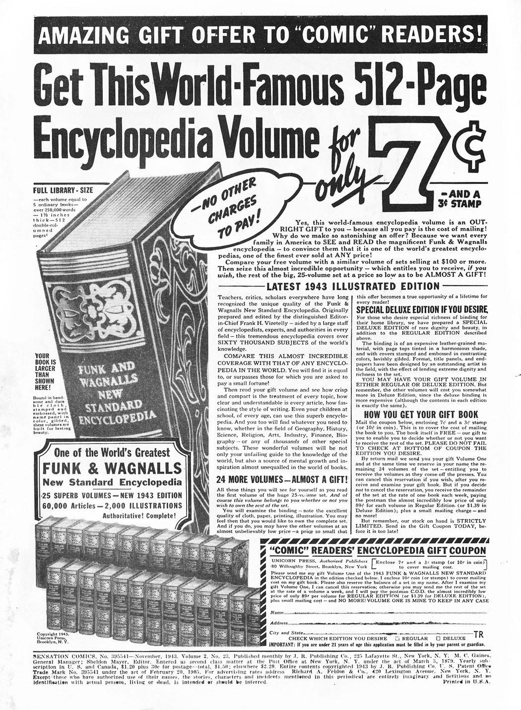 Read online Sensation (Mystery) Comics comic -  Issue #23 - 2