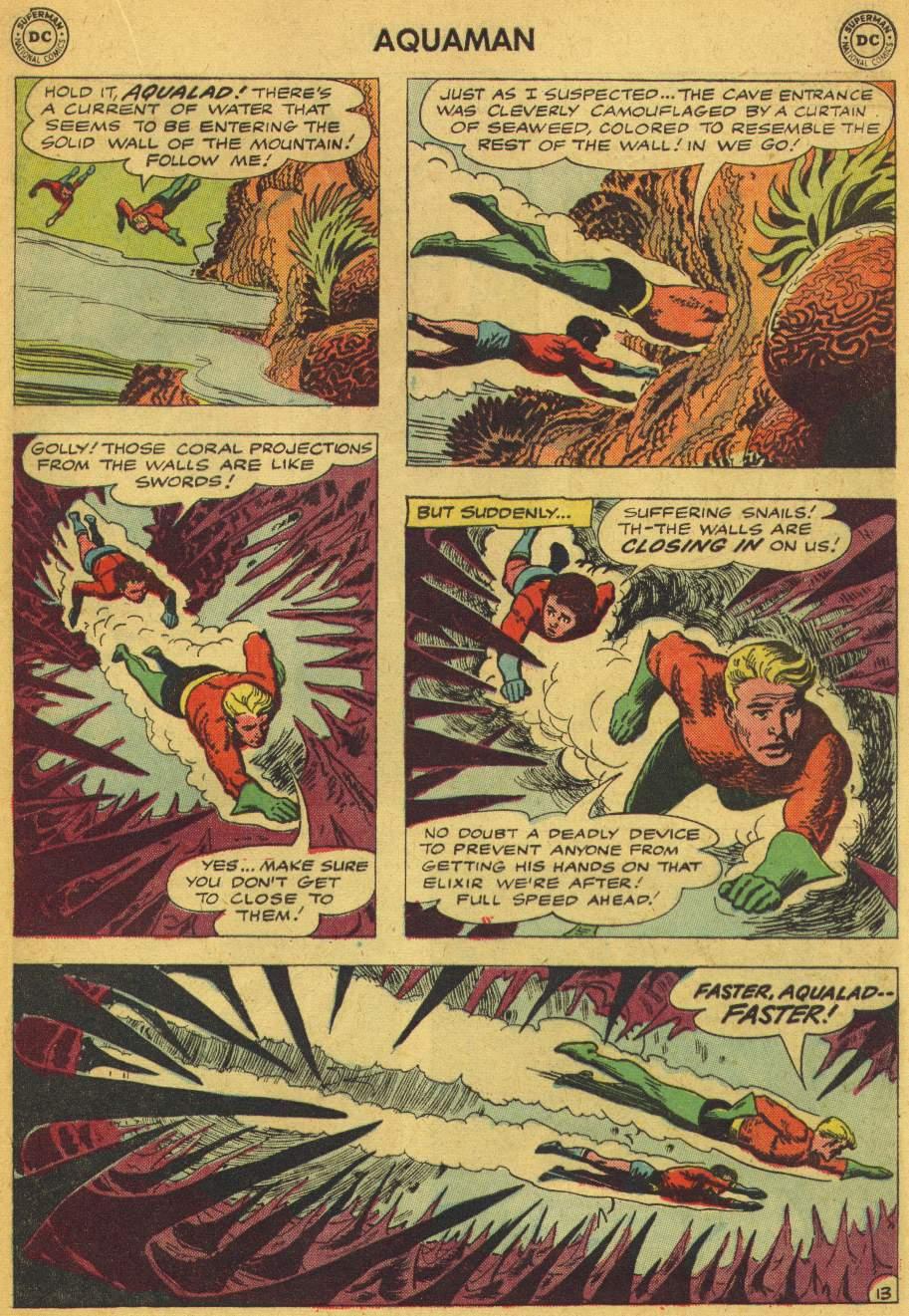 Read online Aquaman (1962) comic -  Issue #5 - 17