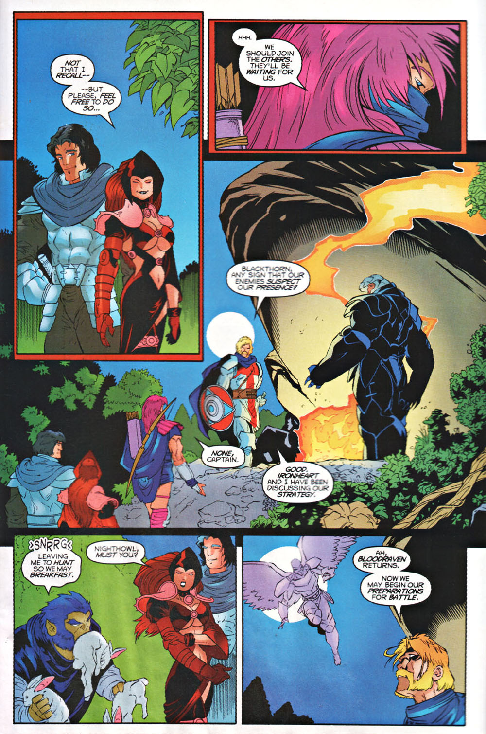 Read online Avataars: Covenant of the Shield comic -  Issue #3 - 4