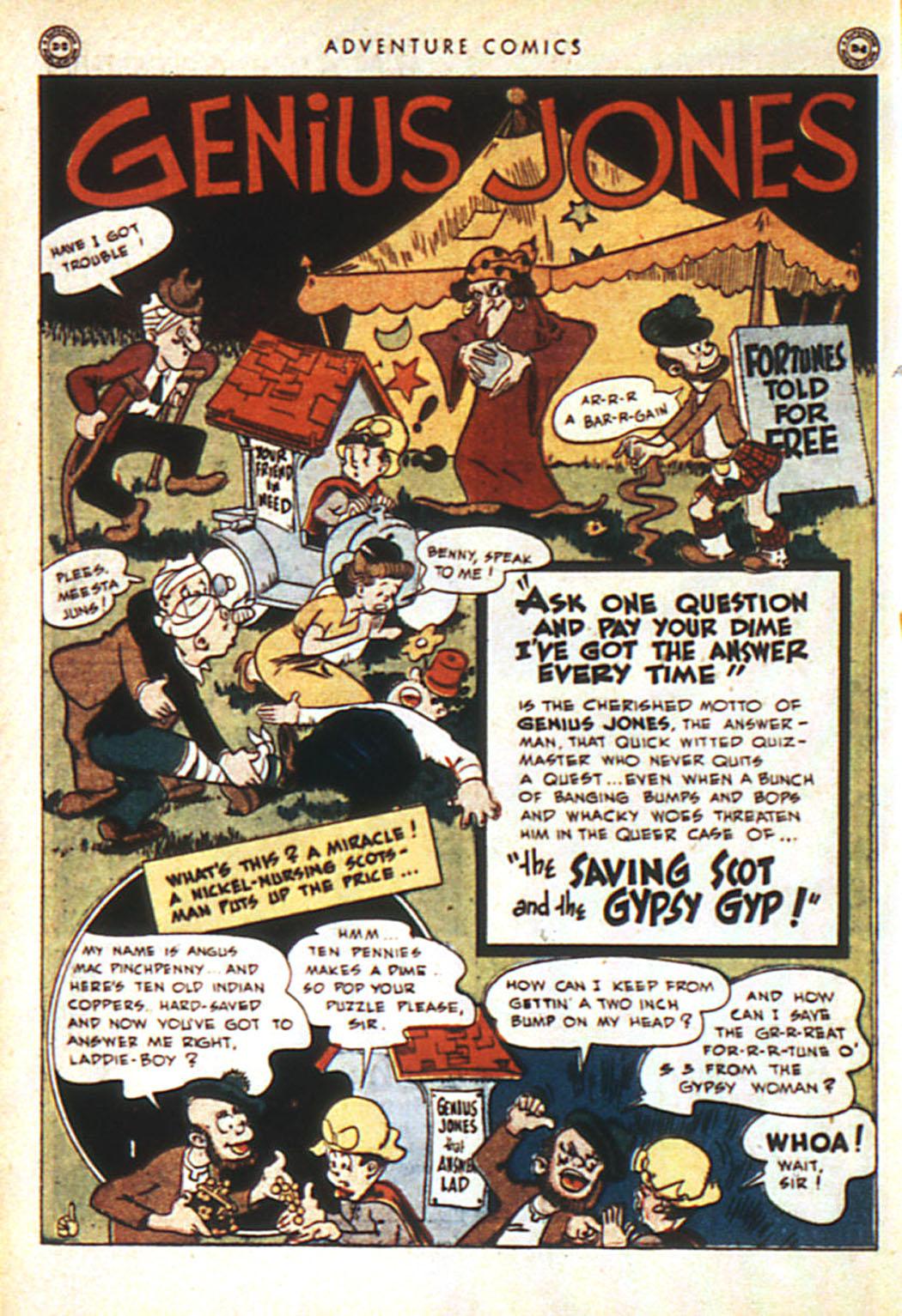 Read online Adventure Comics (1938) comic -  Issue #92 - 12