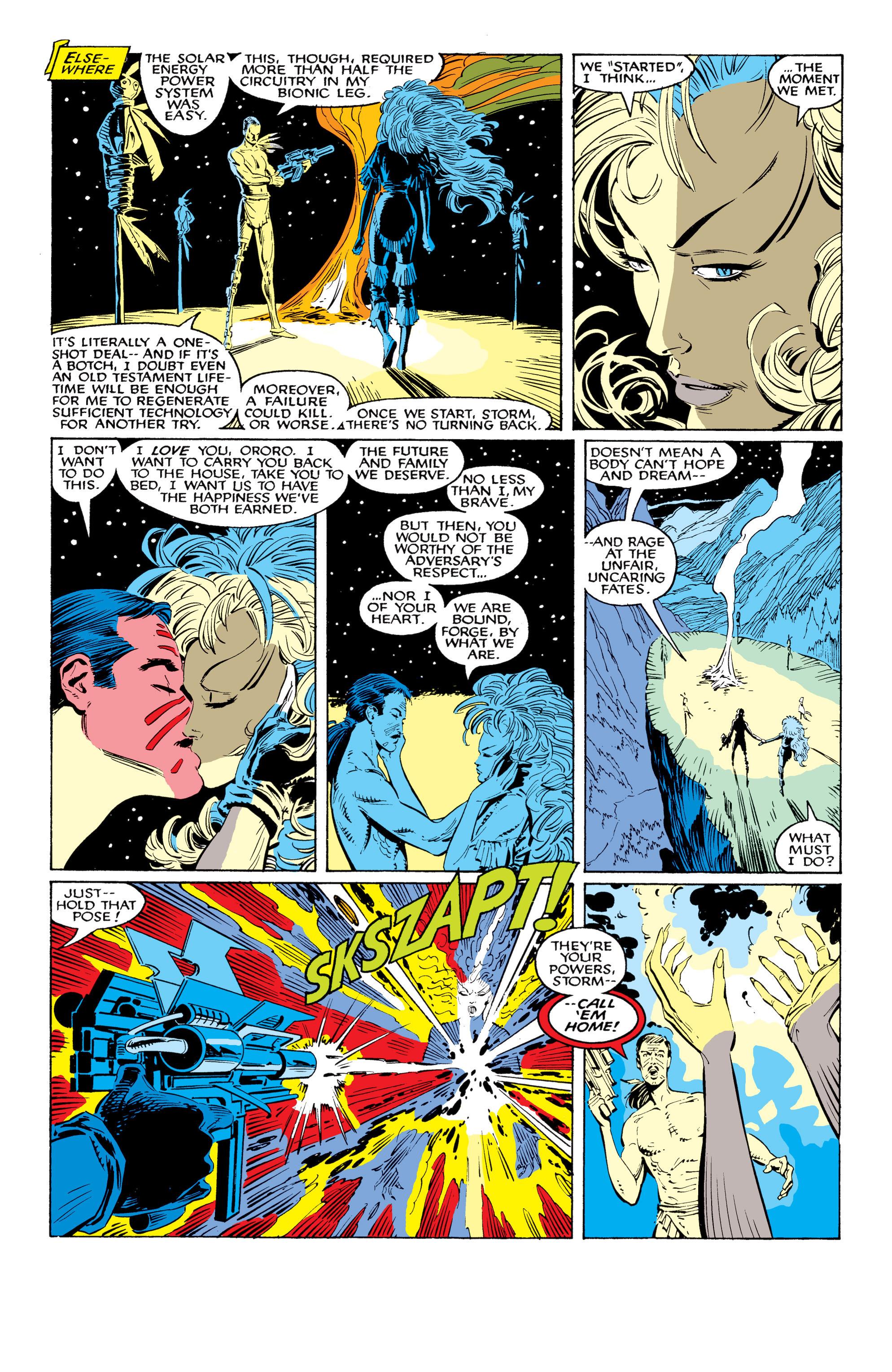 Read online Uncanny X-Men (1963) comic -  Issue #226 - 37