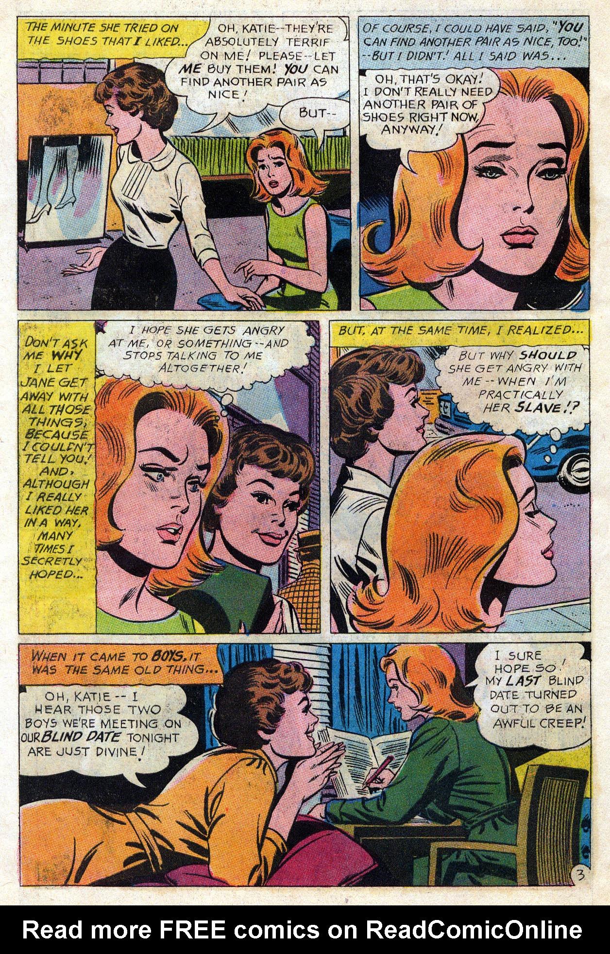 Read online Secret Hearts comic -  Issue #109 - 25