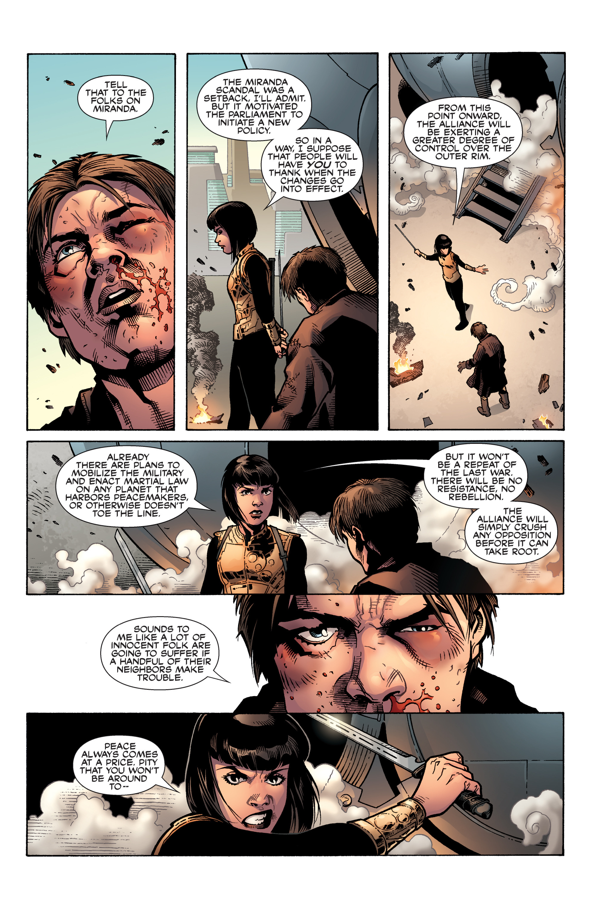 Read online Serenity: Firefly Class 03-K64 – No Power in the 'Verse comic -  Issue #6 - 10