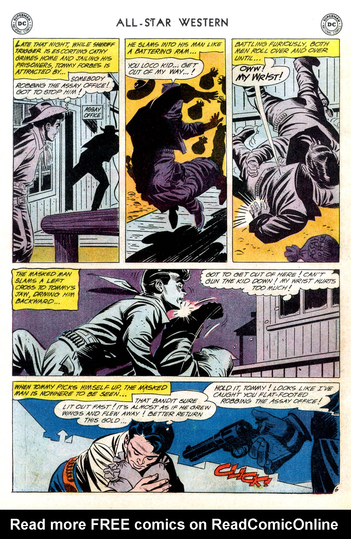 Read online All-Star Western (1951) comic -  Issue #116 - 30