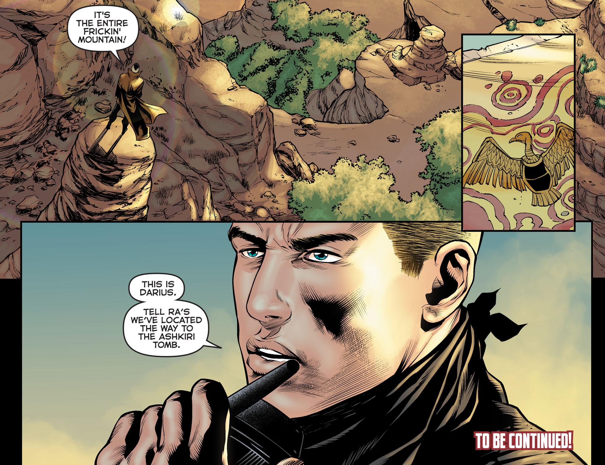 Read online Arrow: The Dark Archer comic -  Issue #5 - 22