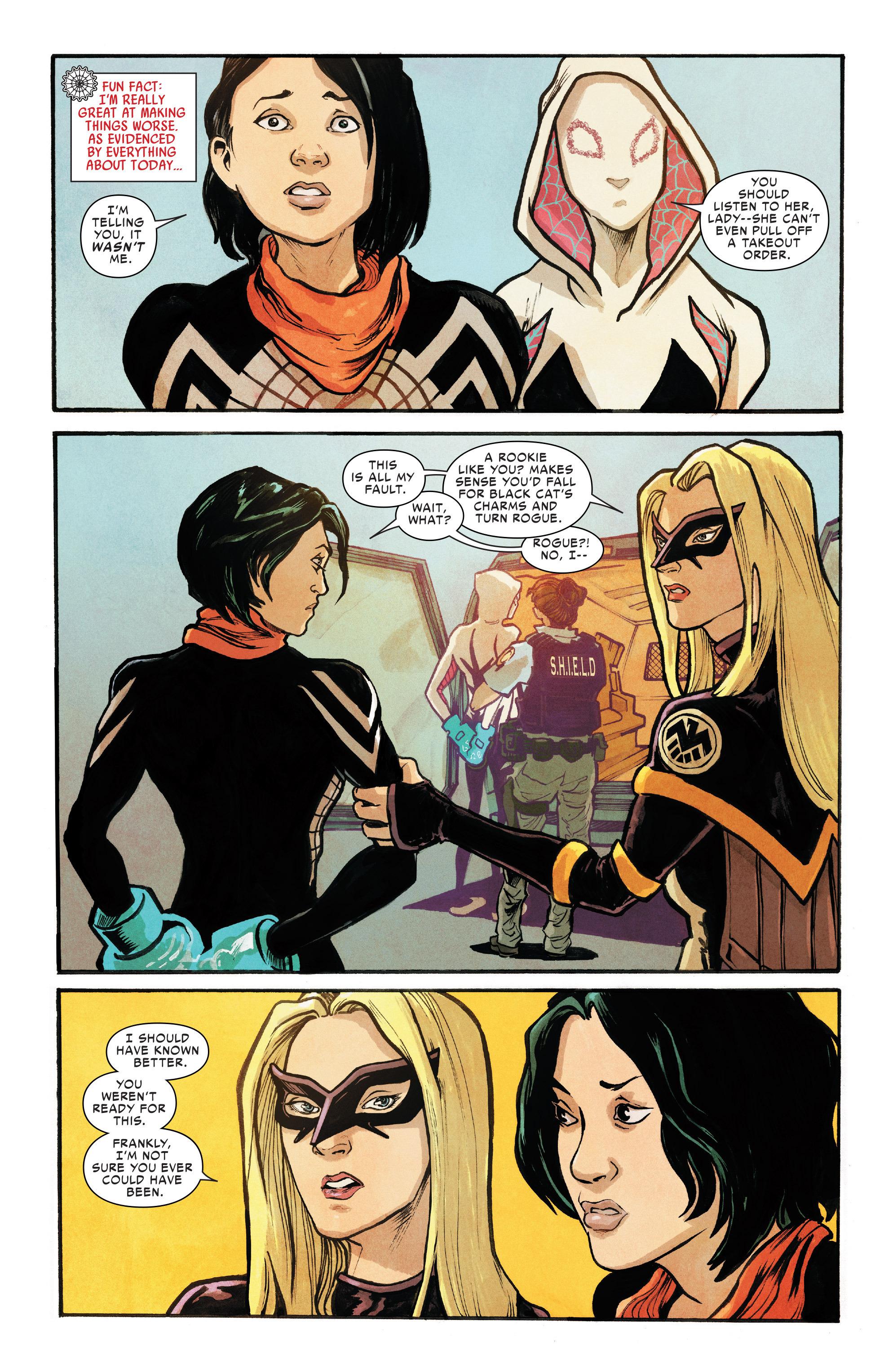 Read online Silk (2016) comic -  Issue #8 - 5
