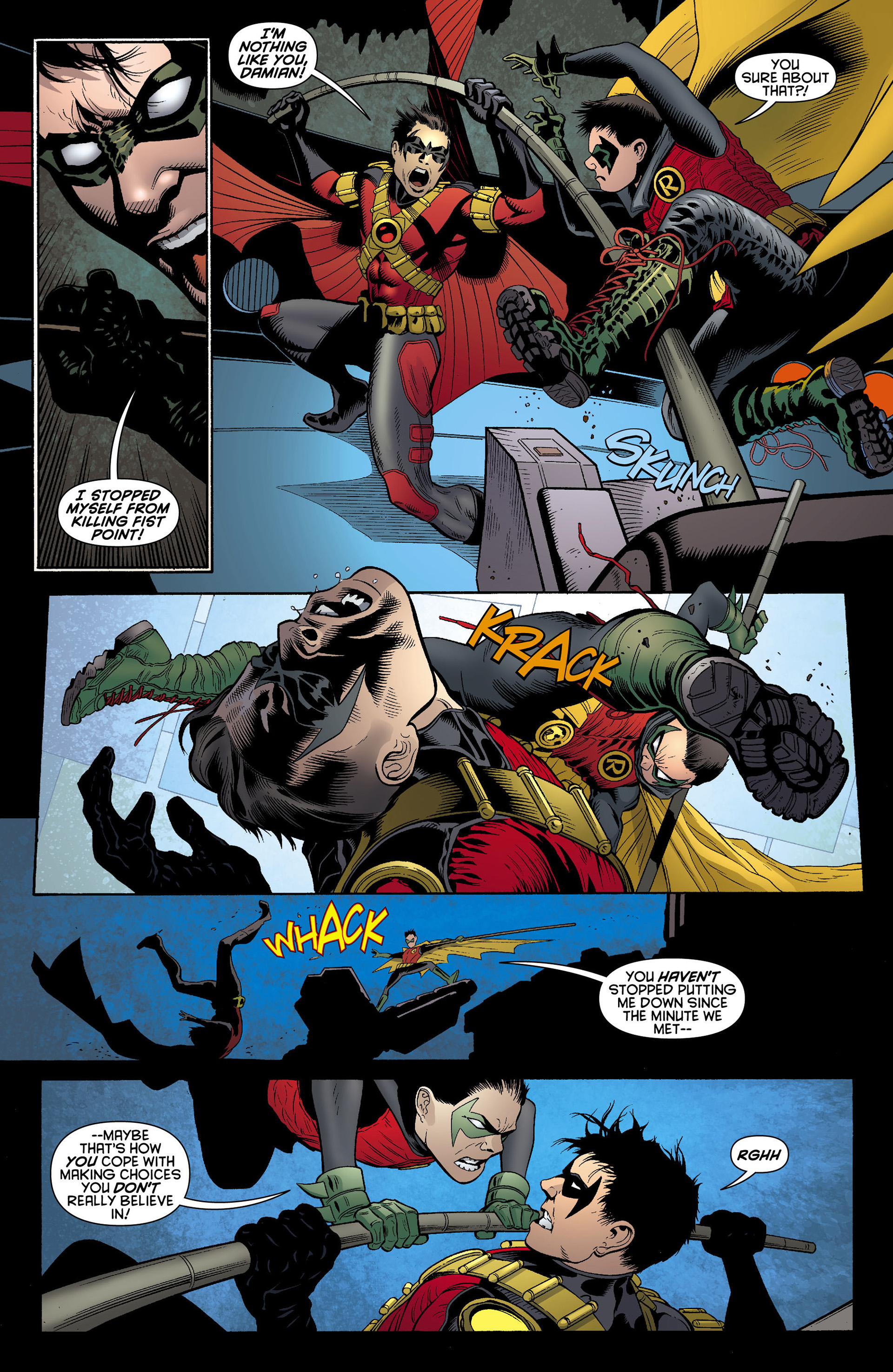 Read online Batman and Robin (2011) comic -  Issue #10 - 17