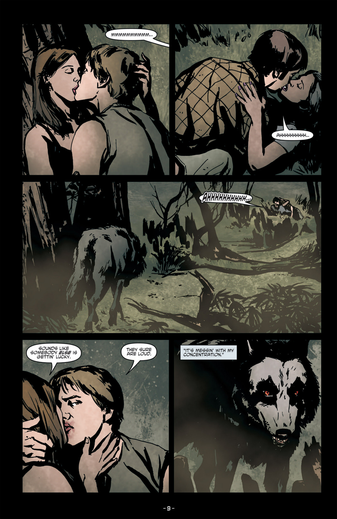 Read online True Blood (2012) comic -  Issue #6 - 11