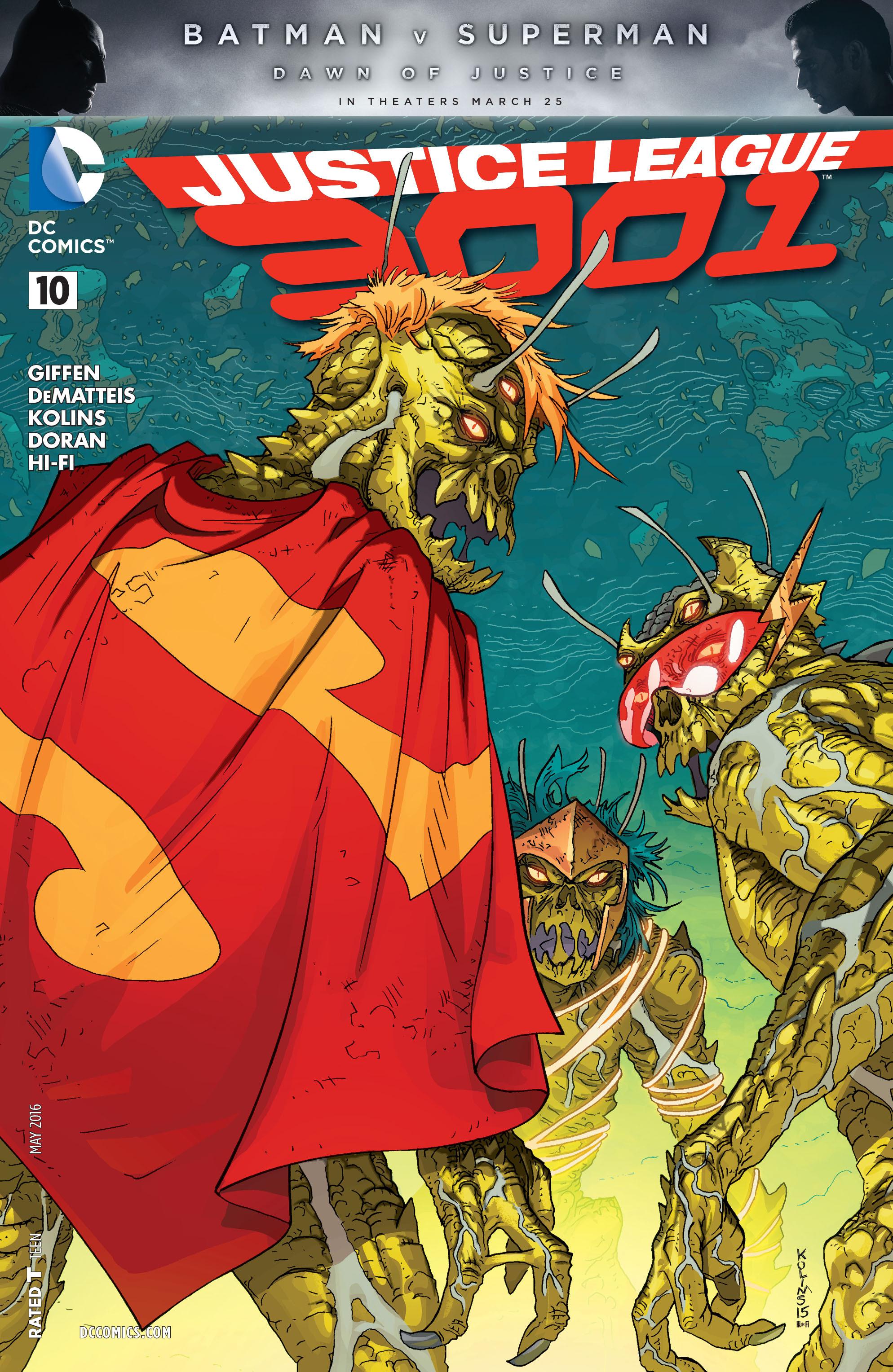 Justice League 3001 10 Page 1