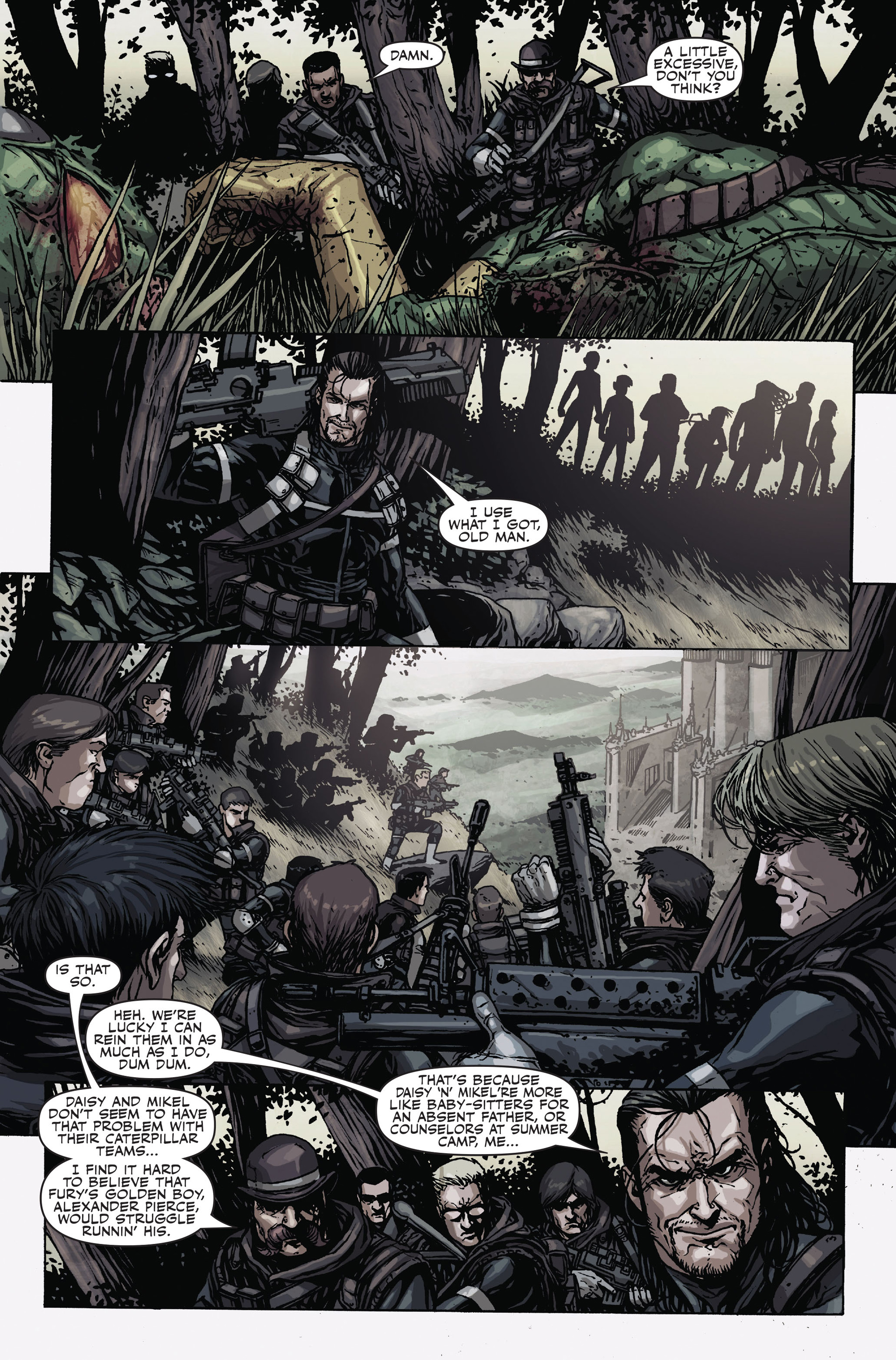 Read online Secret Warriors comic -  Issue #17 - 18