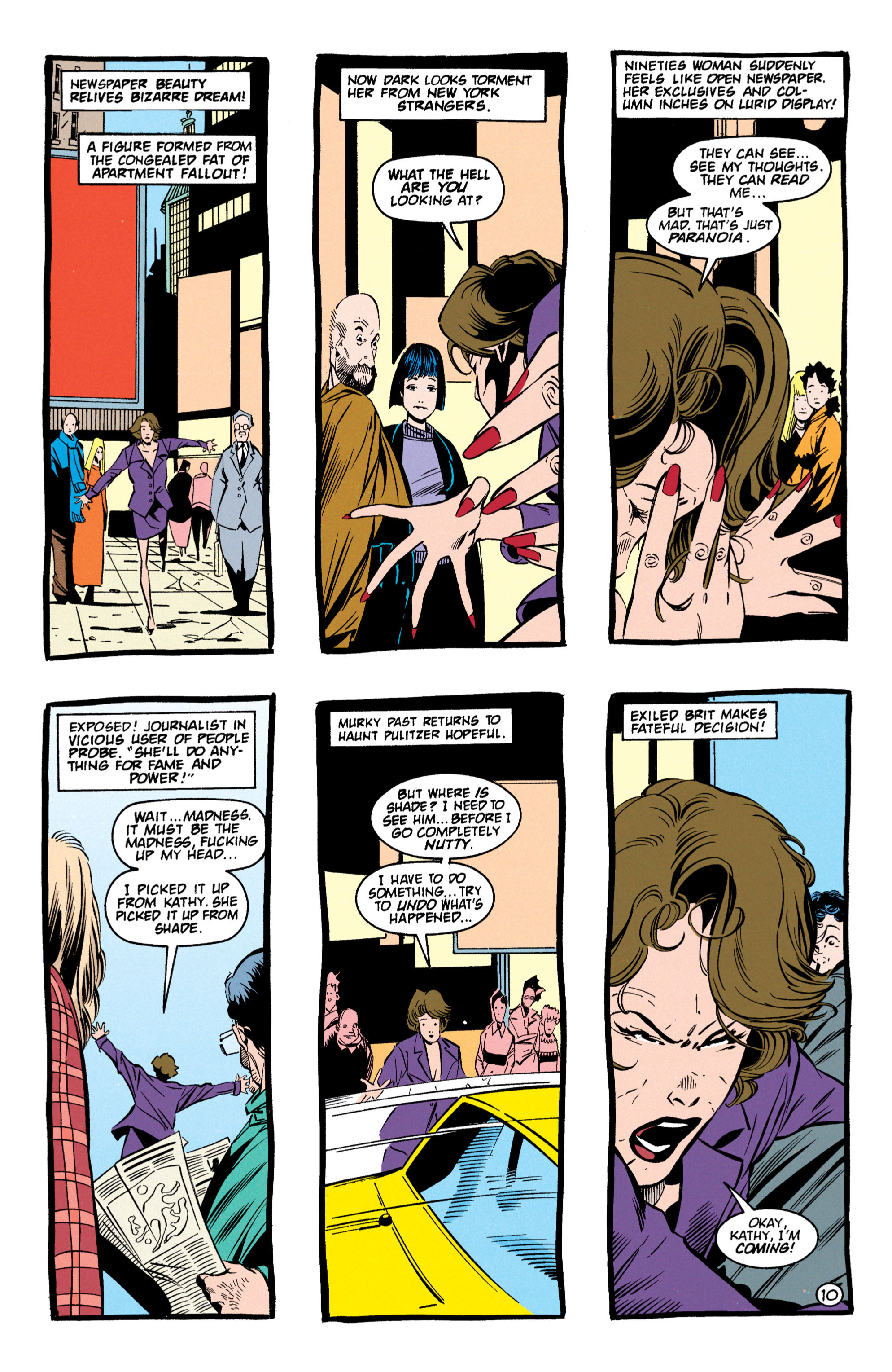 Read online Shade, the Changing Man comic -  Issue #59 - 11