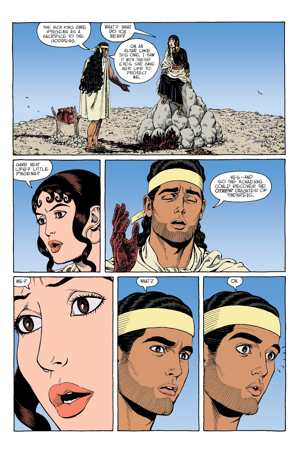 Read online Age of Bronze comic -  Issue #34 - 18