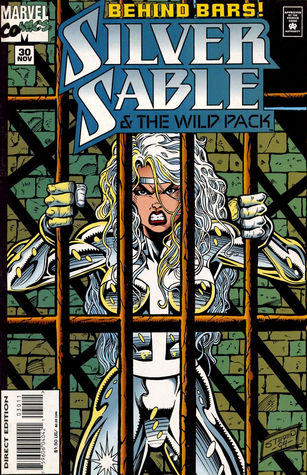 Read online Silver Sable and the Wild Pack comic -  Issue #30 - 1