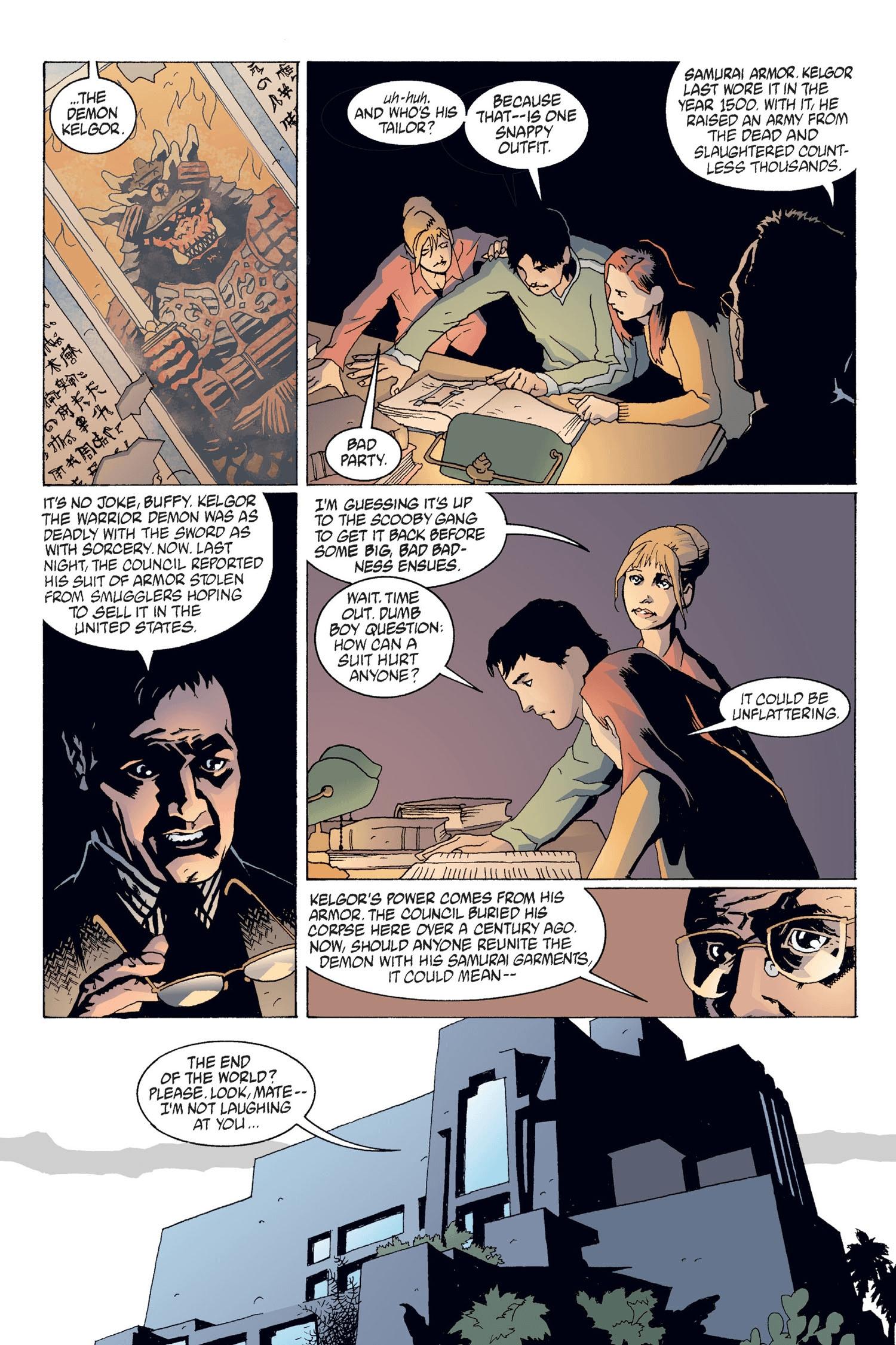 Read online Buffy the Vampire Slayer: Omnibus comic -  Issue # TPB 2 - 151