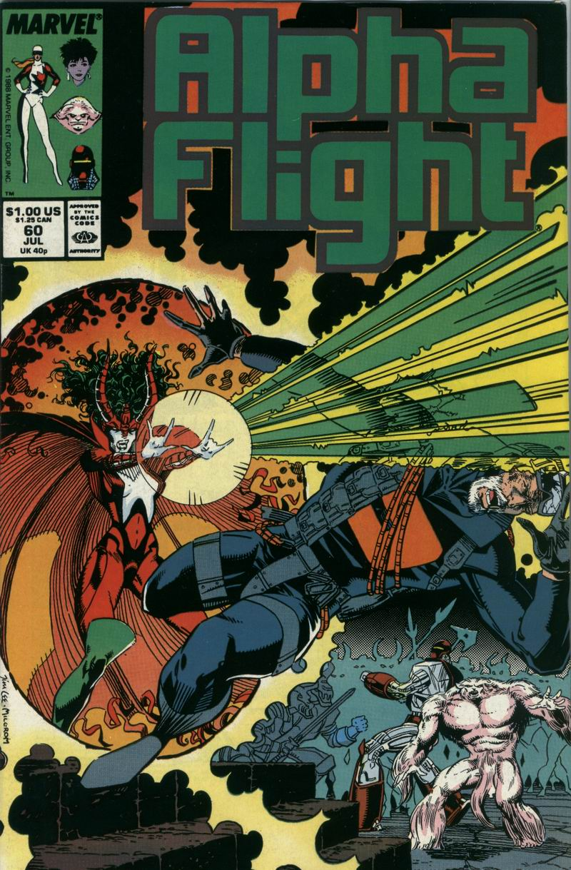 Read online Alpha Flight (1983) comic -  Issue #60 - 1