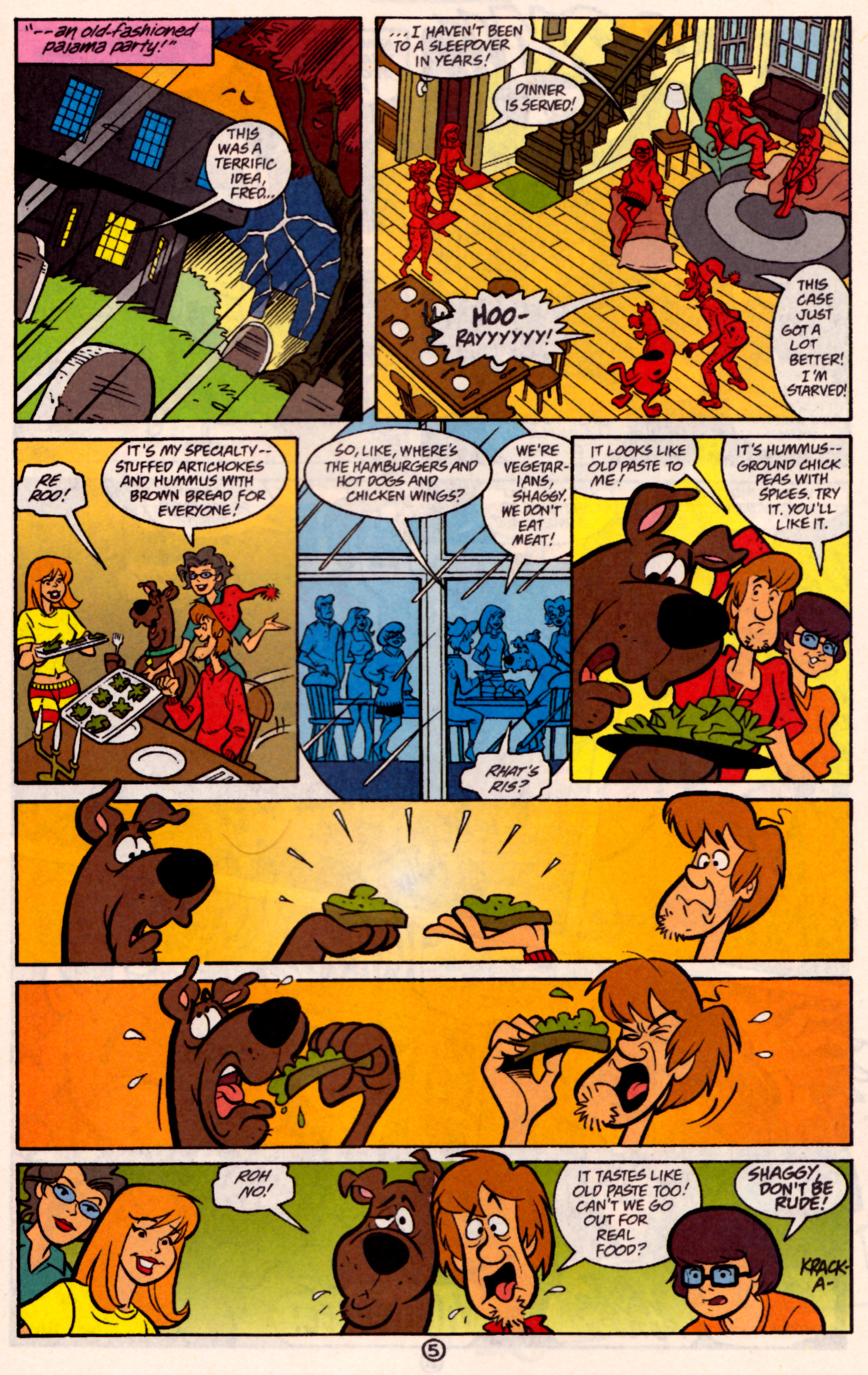 Read online Scooby-Doo (1997) comic -  Issue #31 - 18