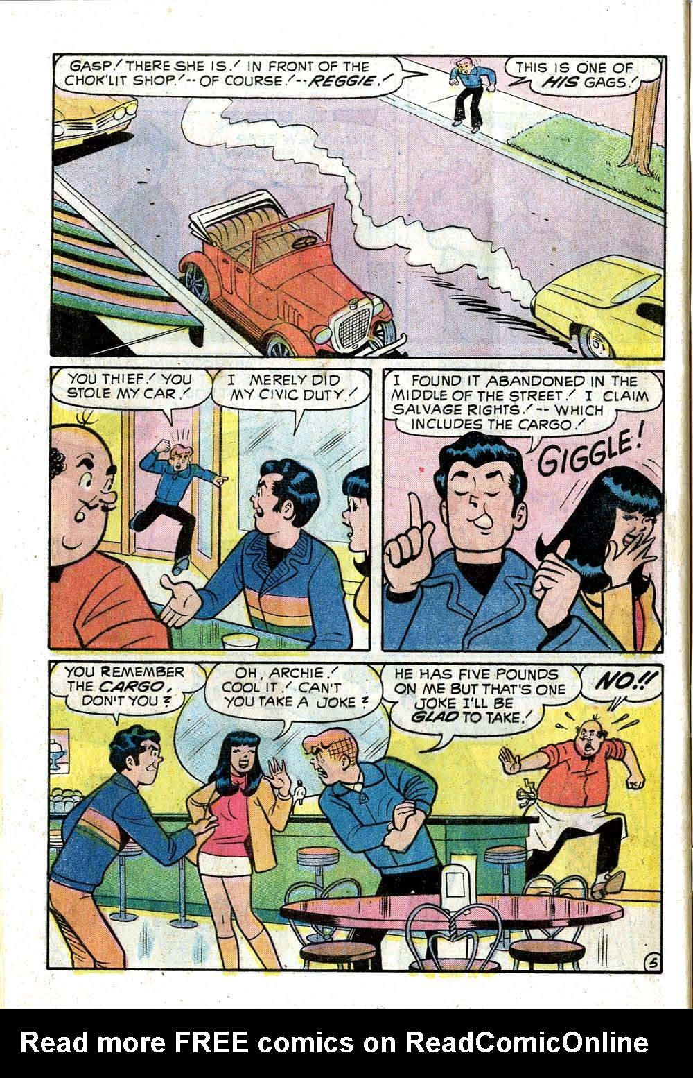 Read online Archie (1960) comic -  Issue #219 - 32